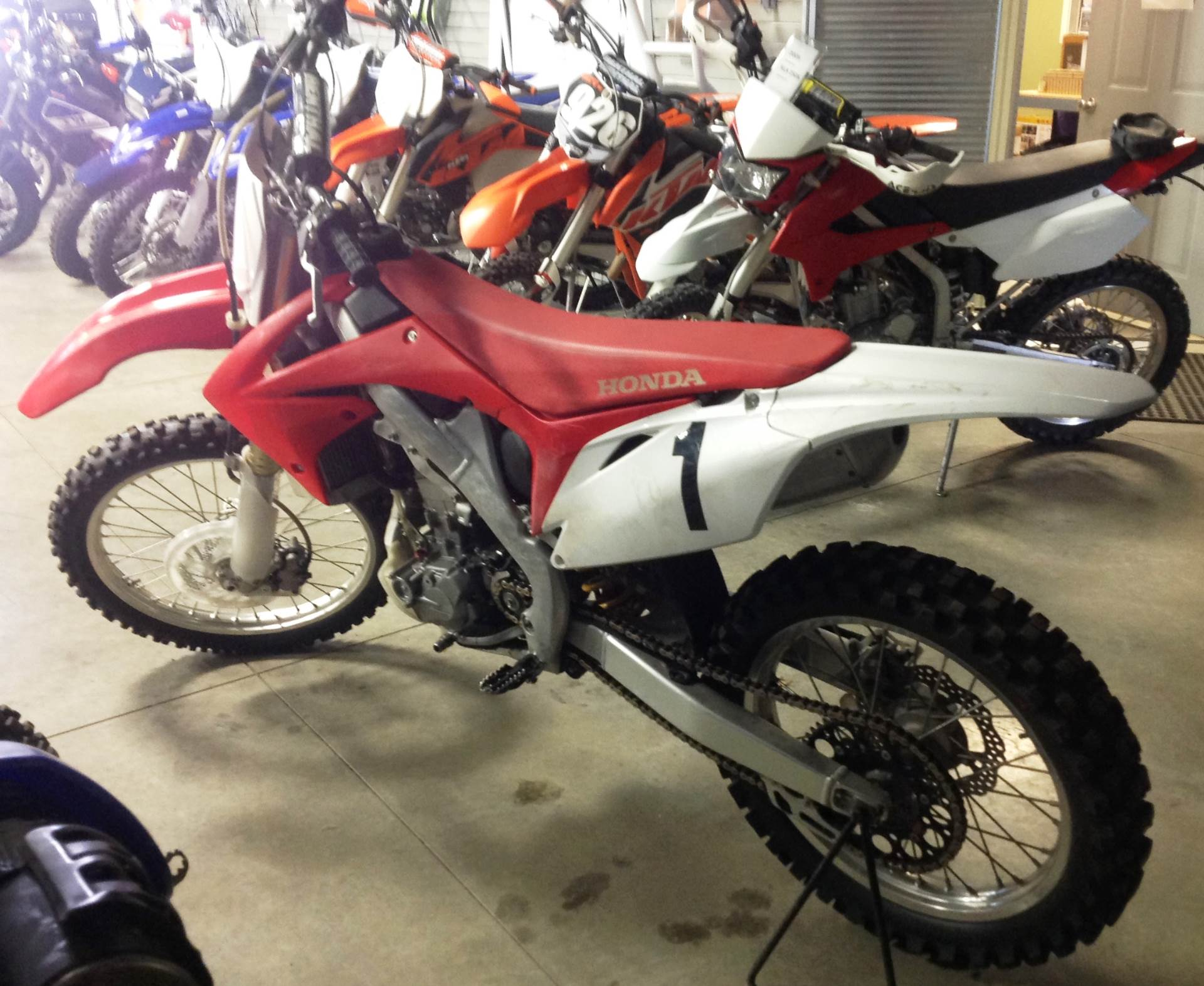 2010 Honda CRF®250R in Ottumwa, Iowa