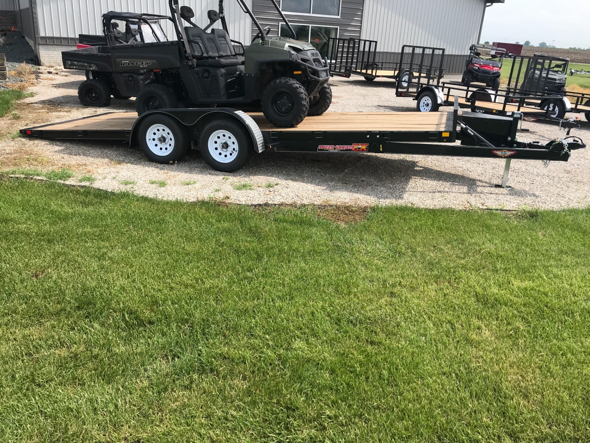 2018 H&H 82X20 EX SPEEDLOADER in Ottumwa, Iowa