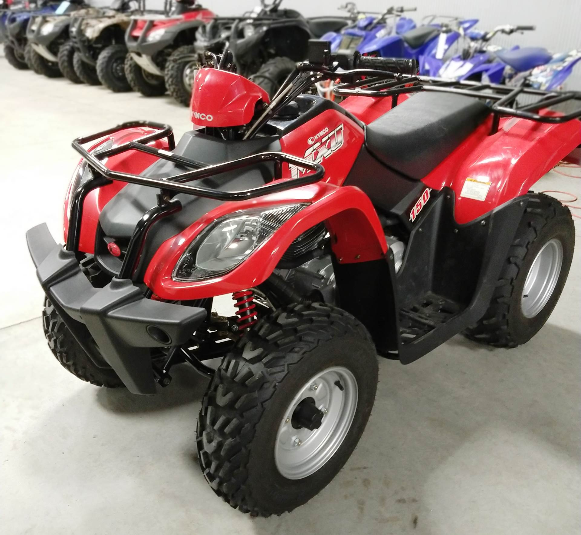 used 2015 kymco mxu 150 atvs in ottumwa ia stock number. Black Bedroom Furniture Sets. Home Design Ideas