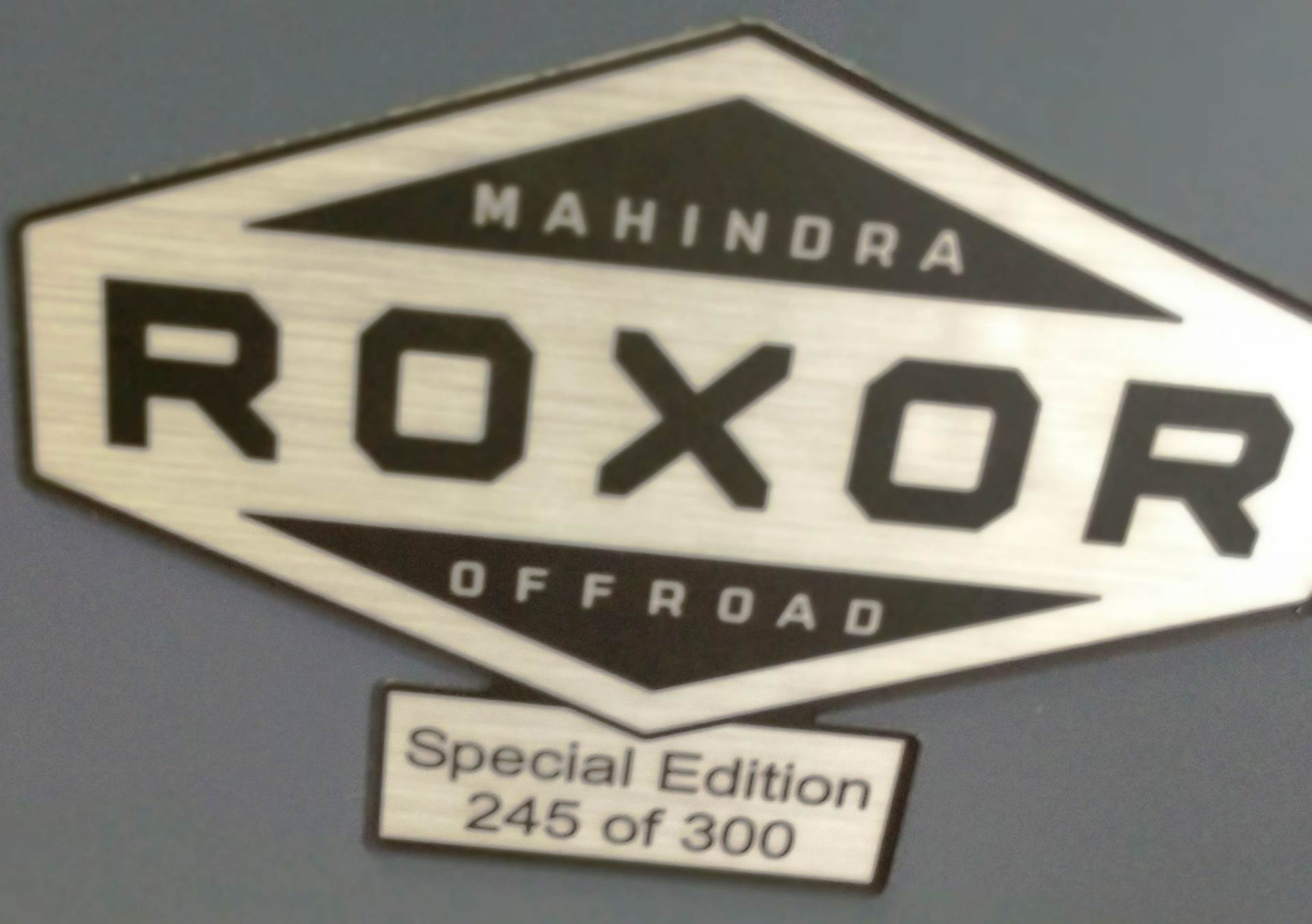 2018 Mahindra Automotive North America ROXOR Special Edition in Ottumwa, Iowa
