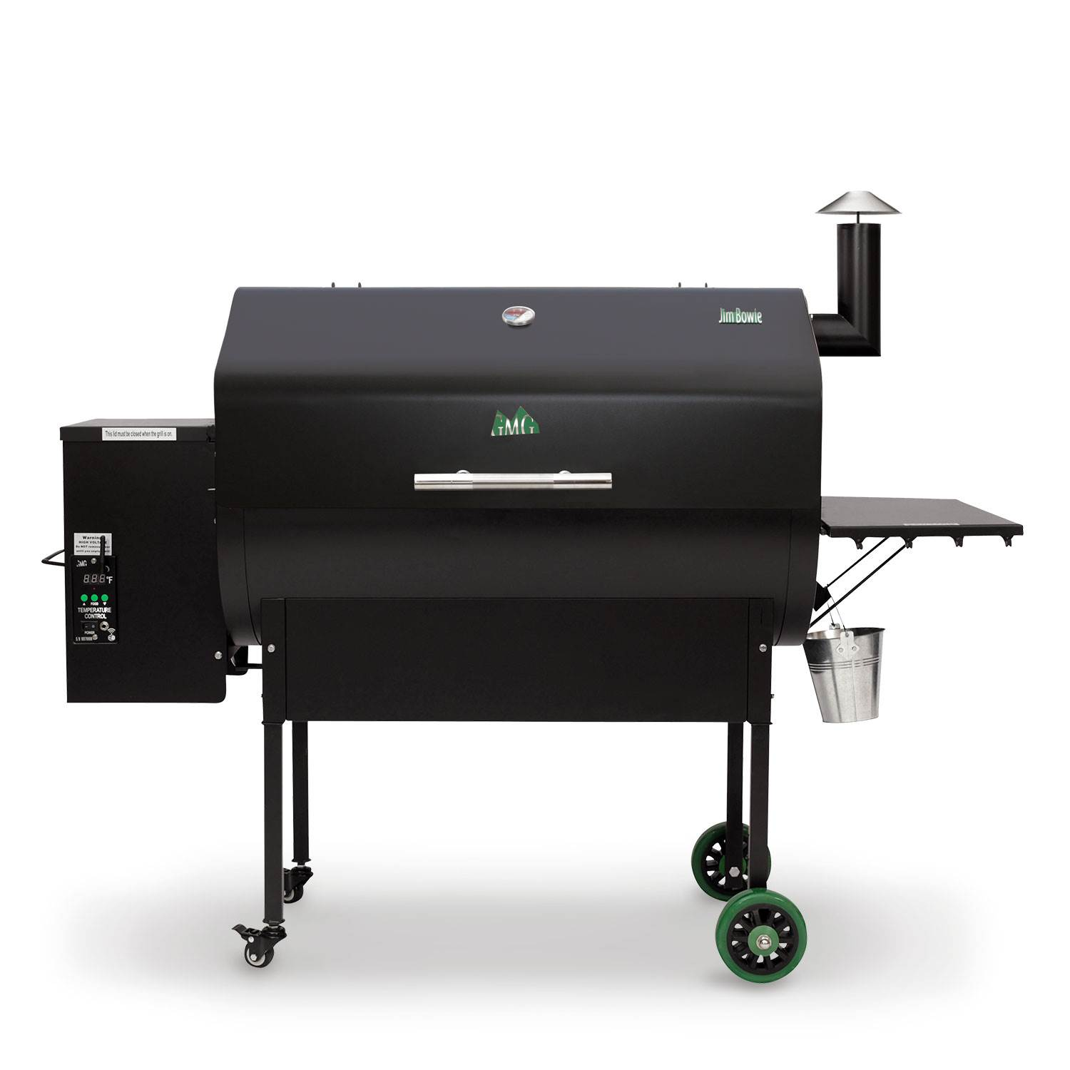 2018 Green Mountain Grills JIM BOWIE BLK WF in Ottumwa, Iowa