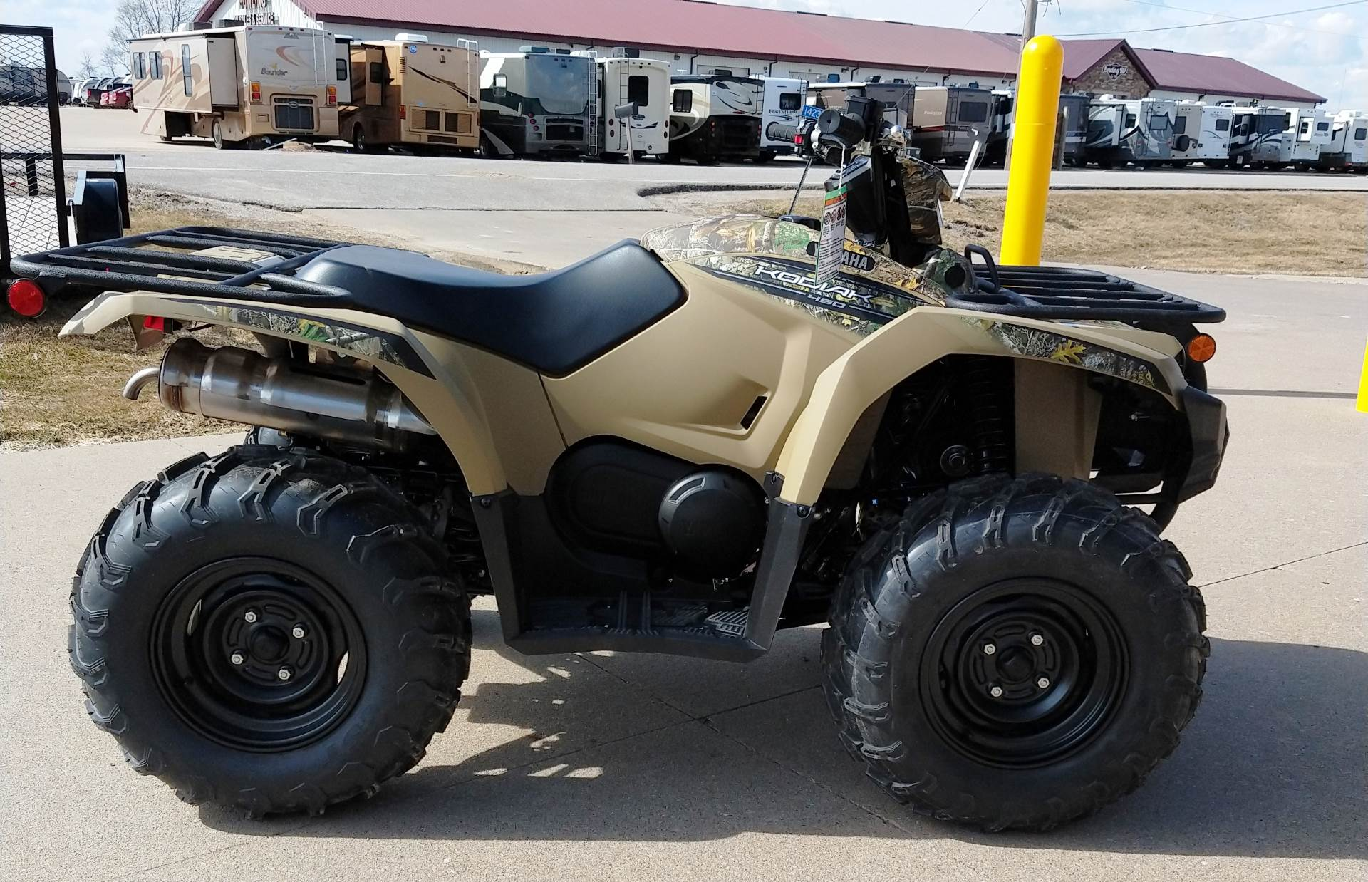 2019 Yamaha Kodiak 450 EPS in Ottumwa, Iowa - Photo 1