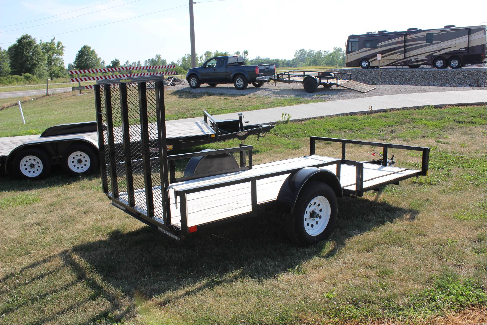 2015 H&H 5X12 ATV TRAILER in Ottumwa, Iowa