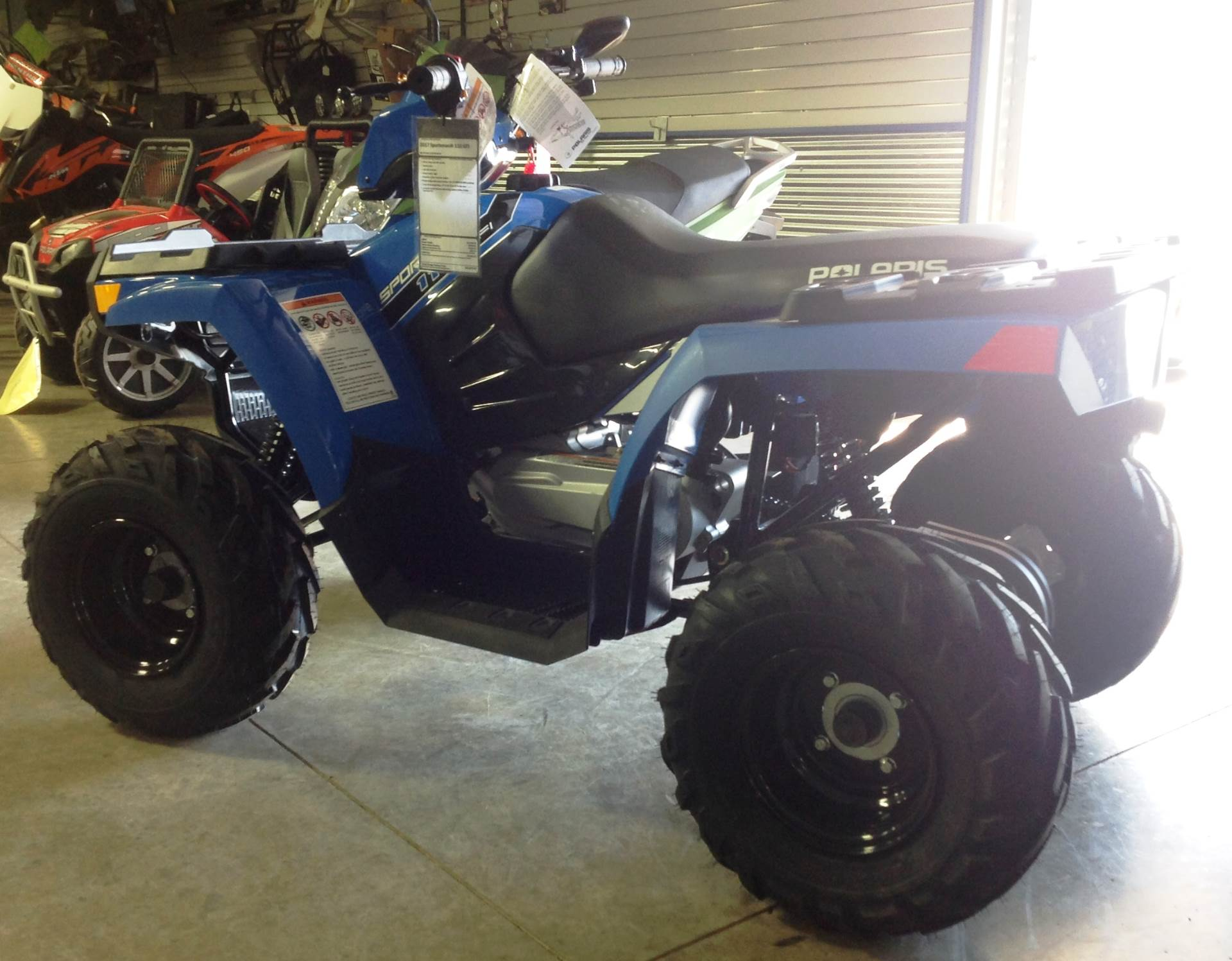 2016 Polaris Outlaw 110 EFI in Ottumwa, Iowa