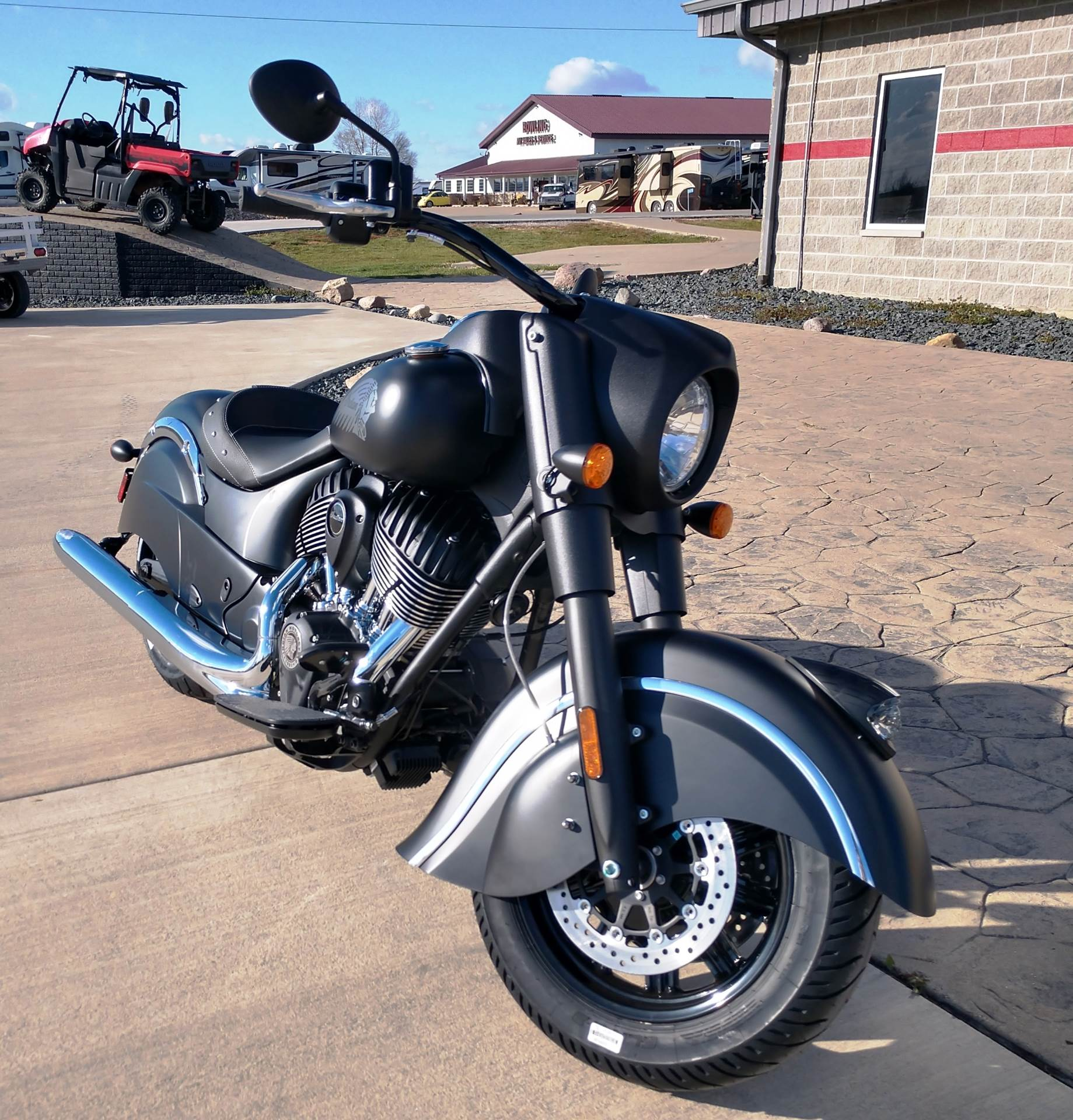 2018 Indian Chief Dark Horse® ABS in Ottumwa, Iowa - Photo 8