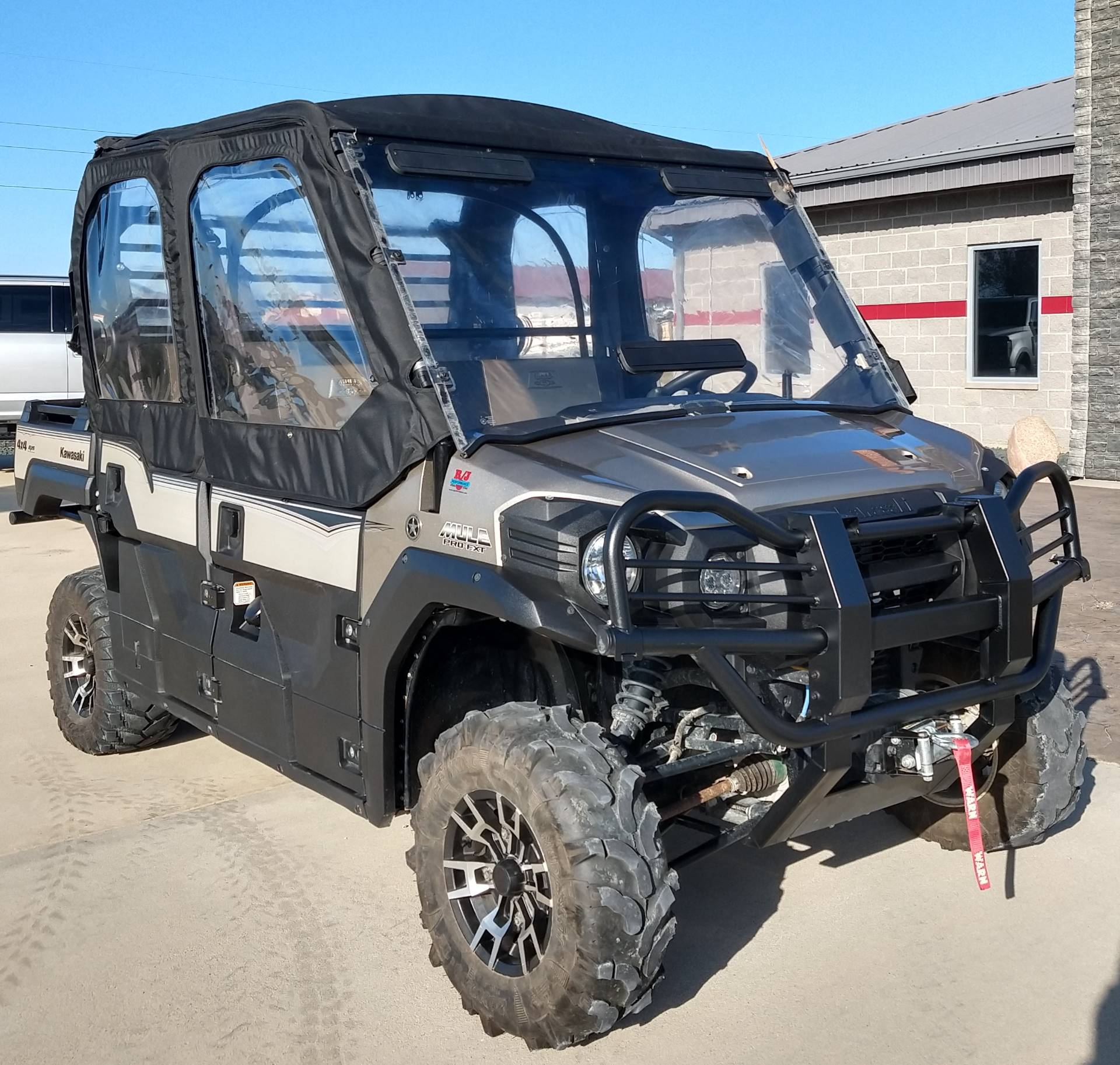 2016 Kawasaki Mule Pro-FXT Ranch Edition 1