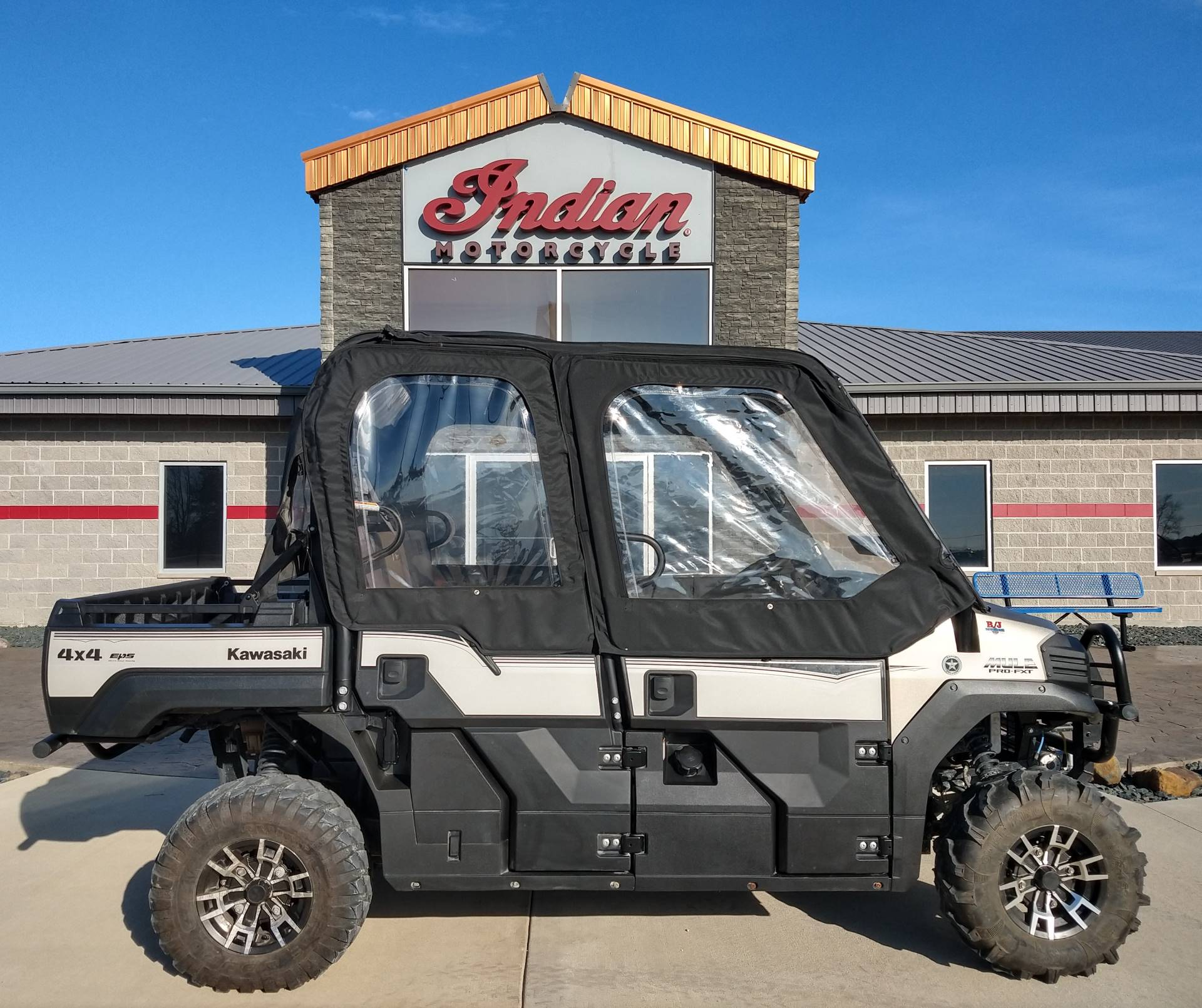 2016 Kawasaki Mule Pro-FXT Ranch Edition 2