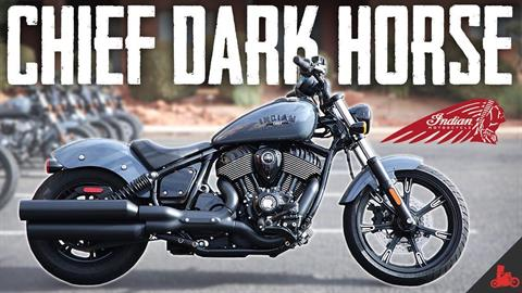 2022 Indian Chief Dark Horse® in Ottumwa, Iowa