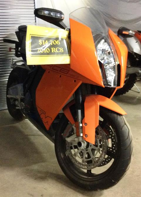 2010 KTM 1190 RC8 in Ottumwa, Iowa