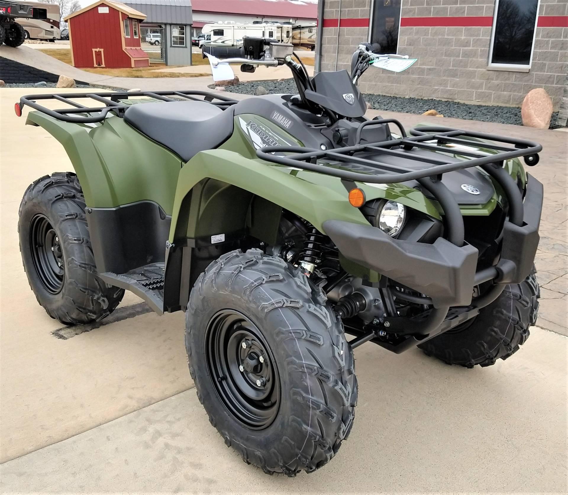 2020 Yamaha Kodiak 450 1