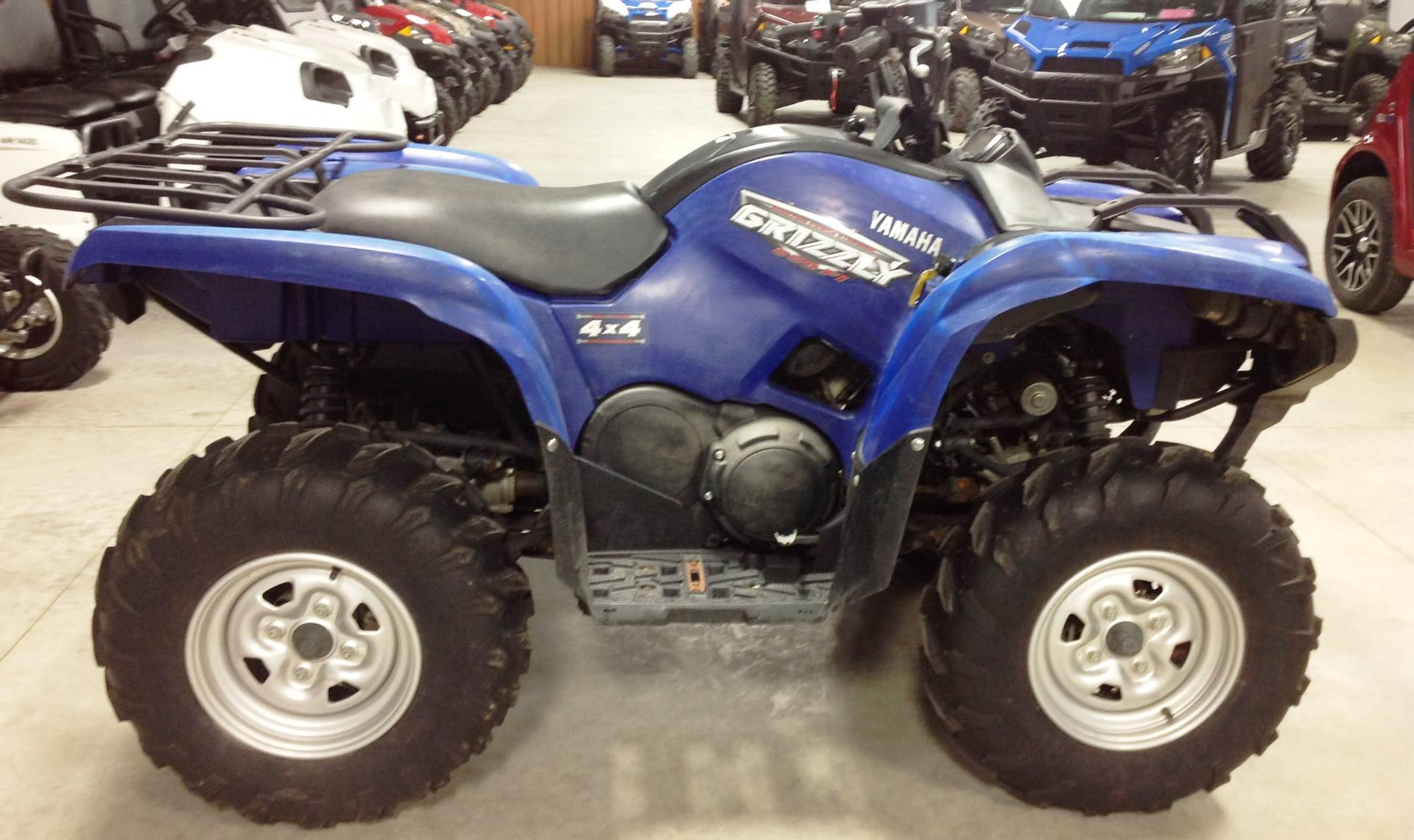 Used 2009 Yamaha Grizzly 550 FI Auto. 4x4 EPS ATVs in Ottumwa, IA ...