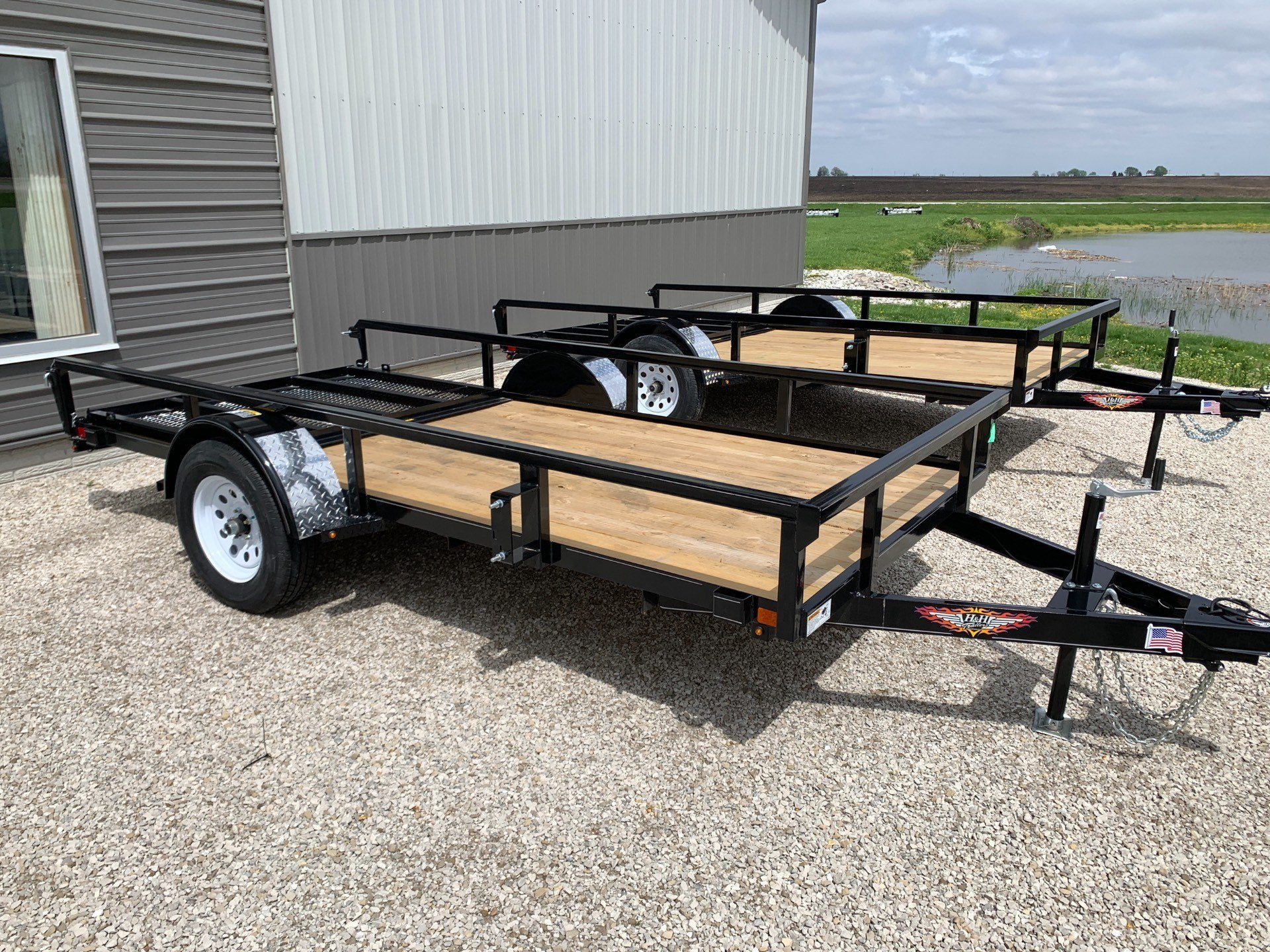 2019 H&H 5.5x12 STEEL RS in Ottumwa, Iowa - Photo 1