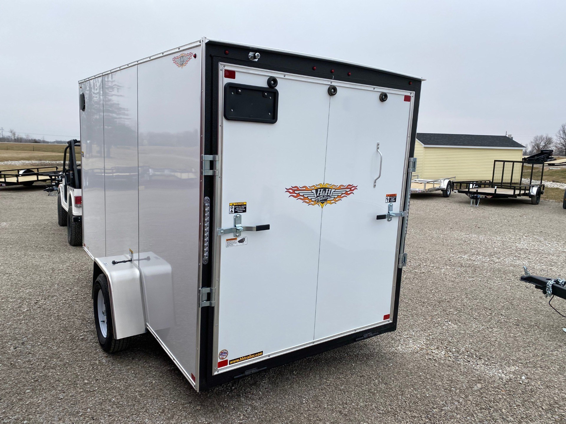 2020 H&H 6X12FLATTOP 3.5 CARGO in Ottumwa, Iowa - Photo 4