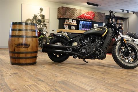 2018 Indian Scout® Bobber Jack Daniels in Ottumwa, Iowa