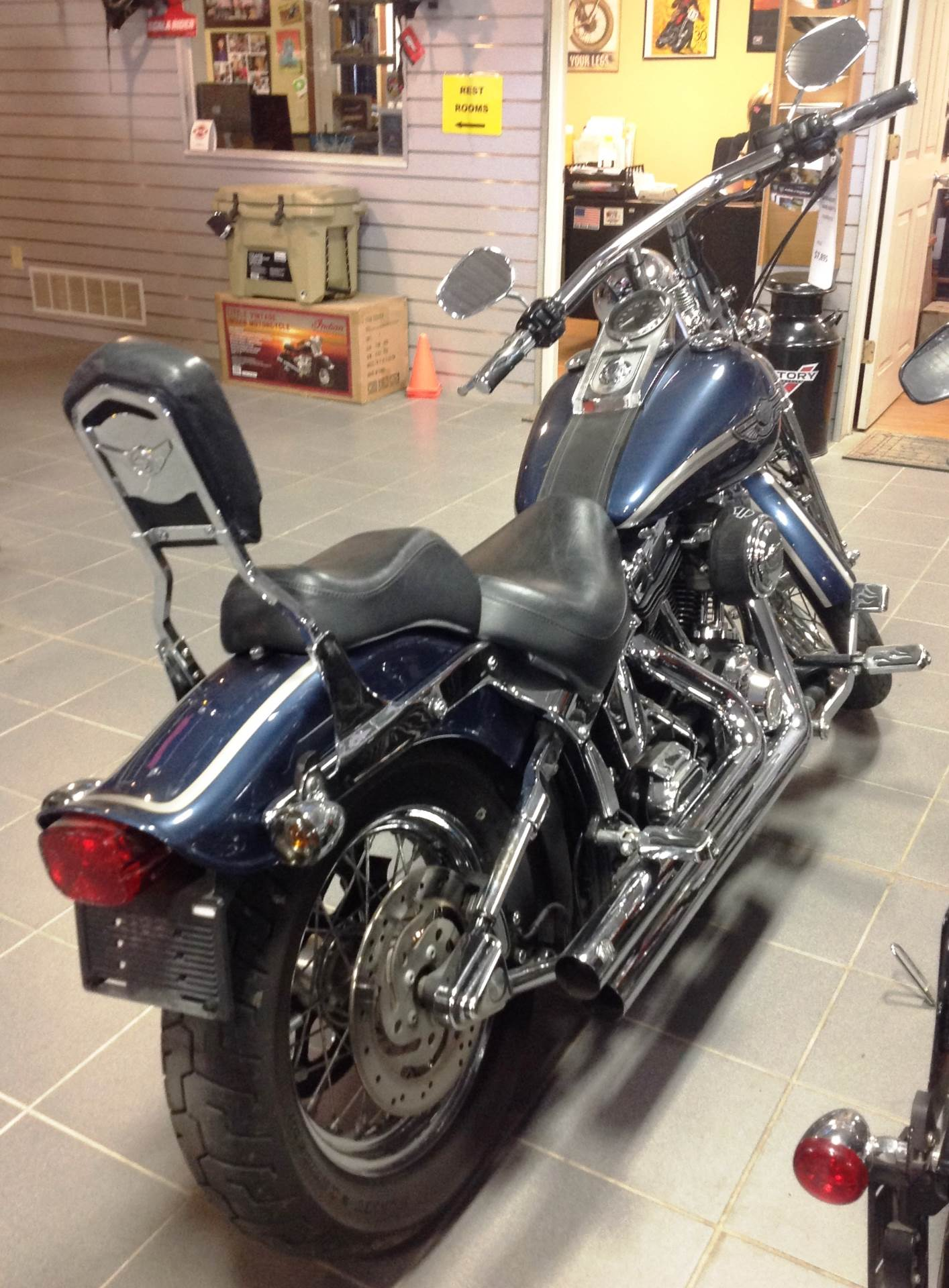 2003 Harley-Davidson FXSTS/FXSTSI Springer®  Softail® in Ottumwa, Iowa