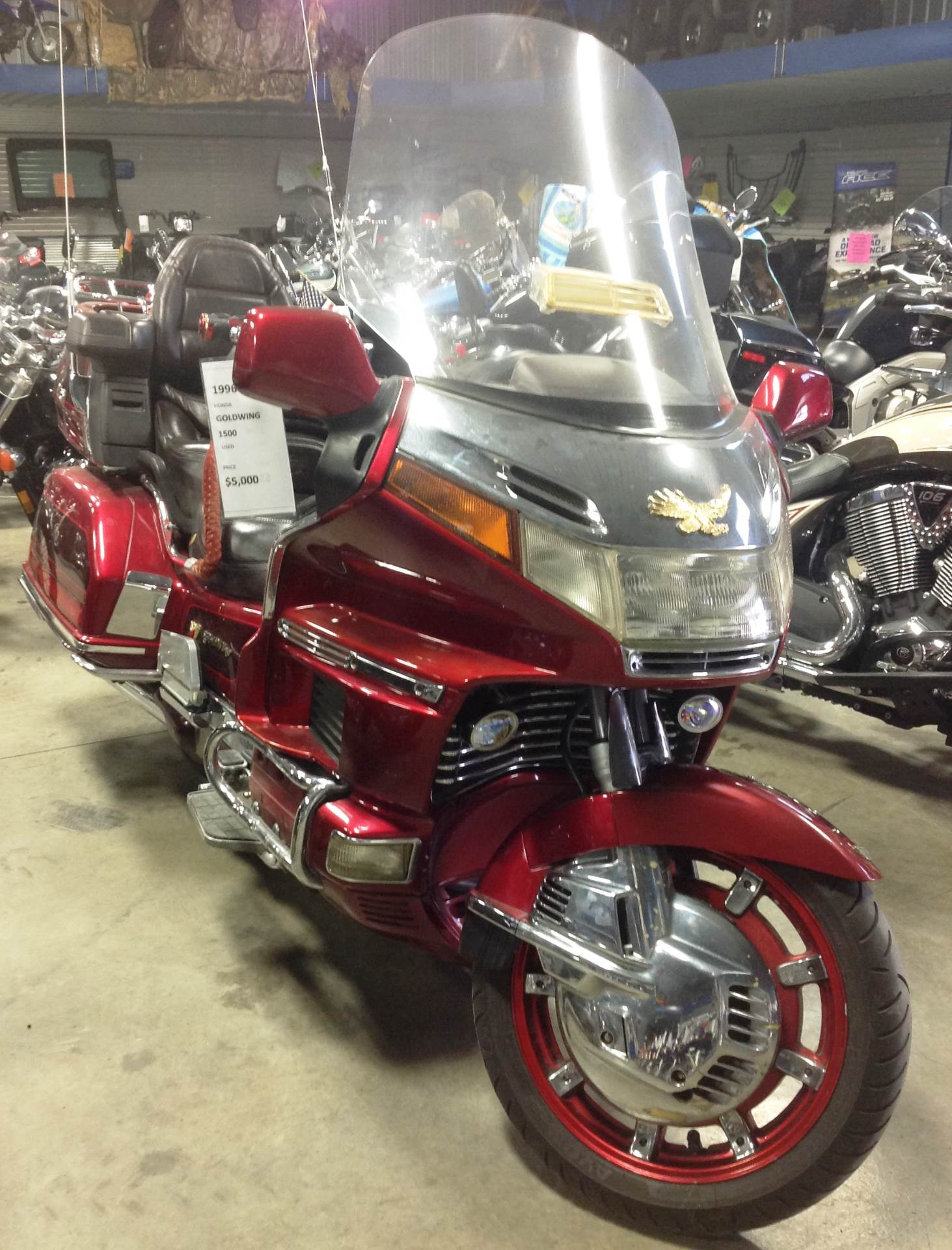 used 1996 honda goldwing 1500 motorcycles in ottumwa ia. Black Bedroom Furniture Sets. Home Design Ideas