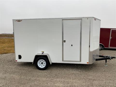 2020 H&H 7X12 SINGLE FLAT TOP VNOSE in Ottumwa, Iowa - Photo 1