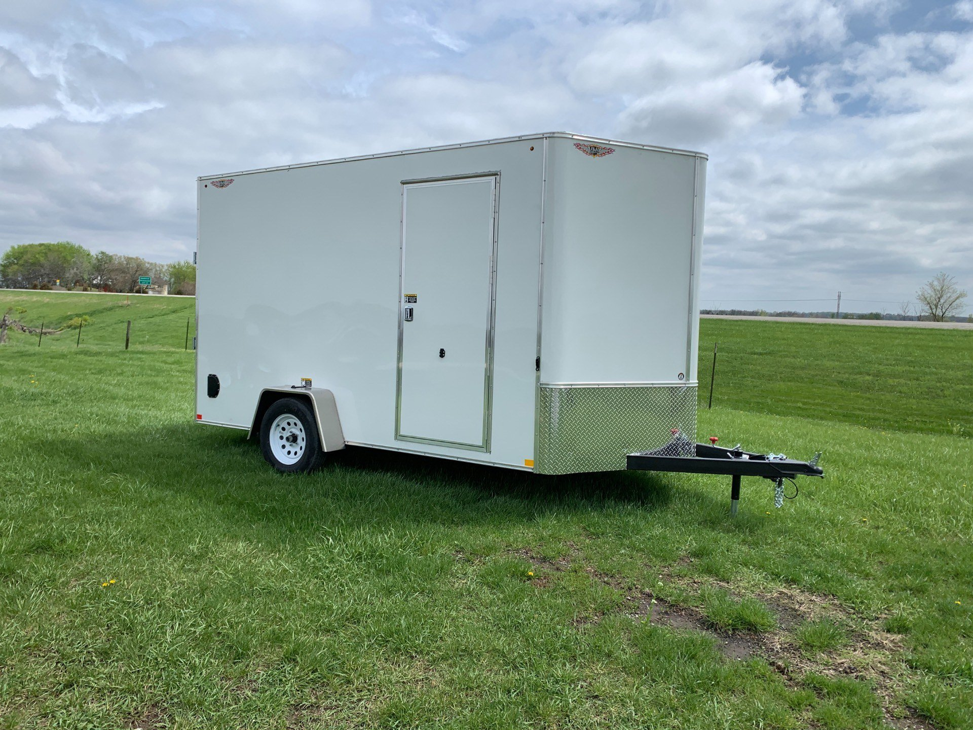 2019 H&H 7X12 3.5K CARGO in Ottumwa, Iowa - Photo 1
