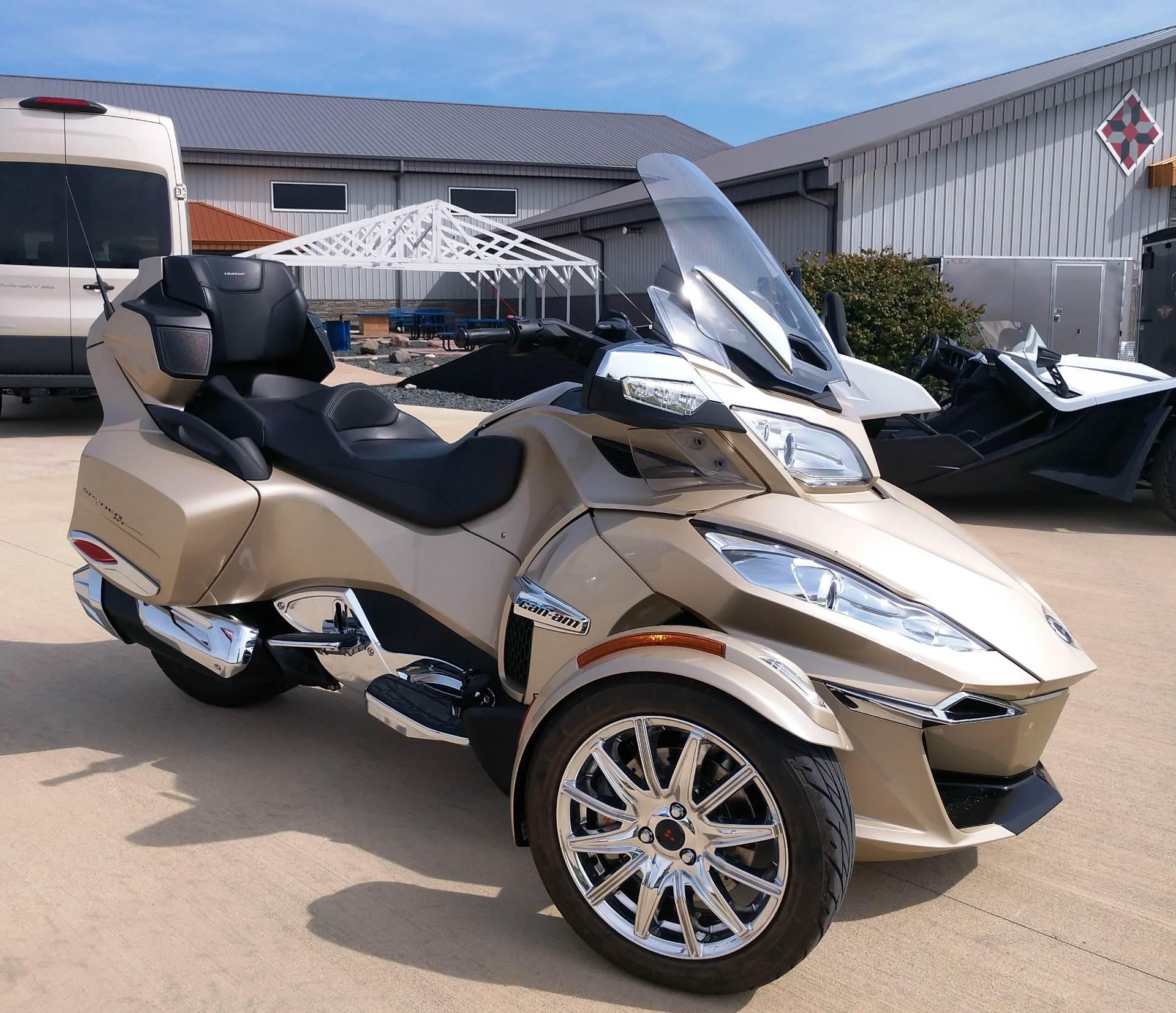 2017 Can Am Spyder Rt Limited In Ottumwa Iowa