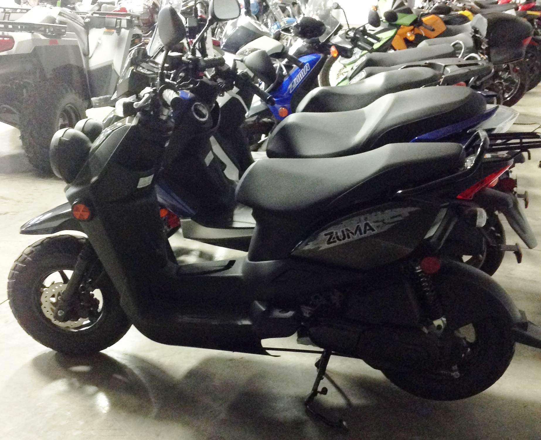 2015 Yamaha Zuma 50F in Ottumwa, Iowa