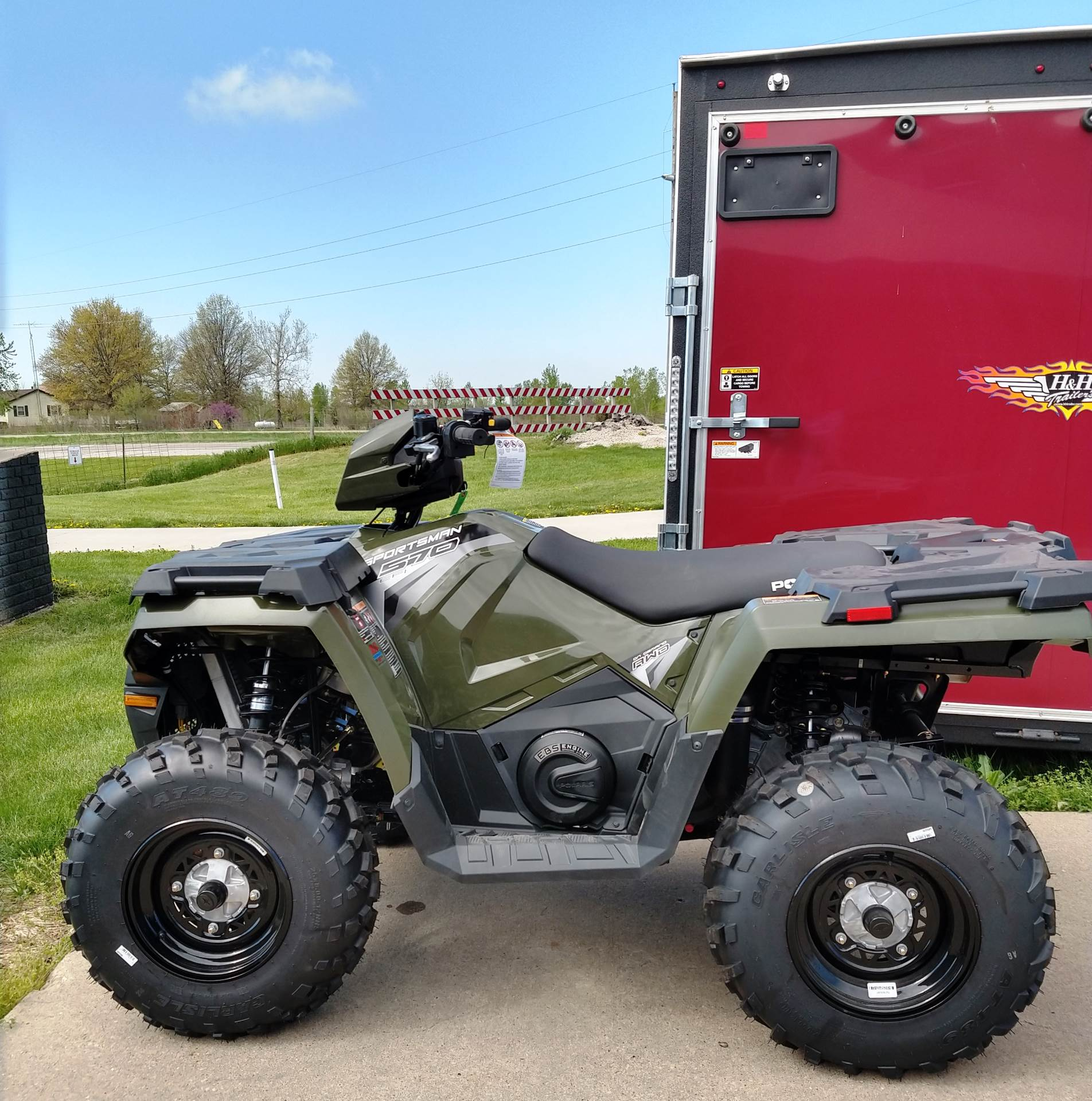 2019 Polaris Sportsman 570 EPS in Ottumwa, Iowa - Photo 4
