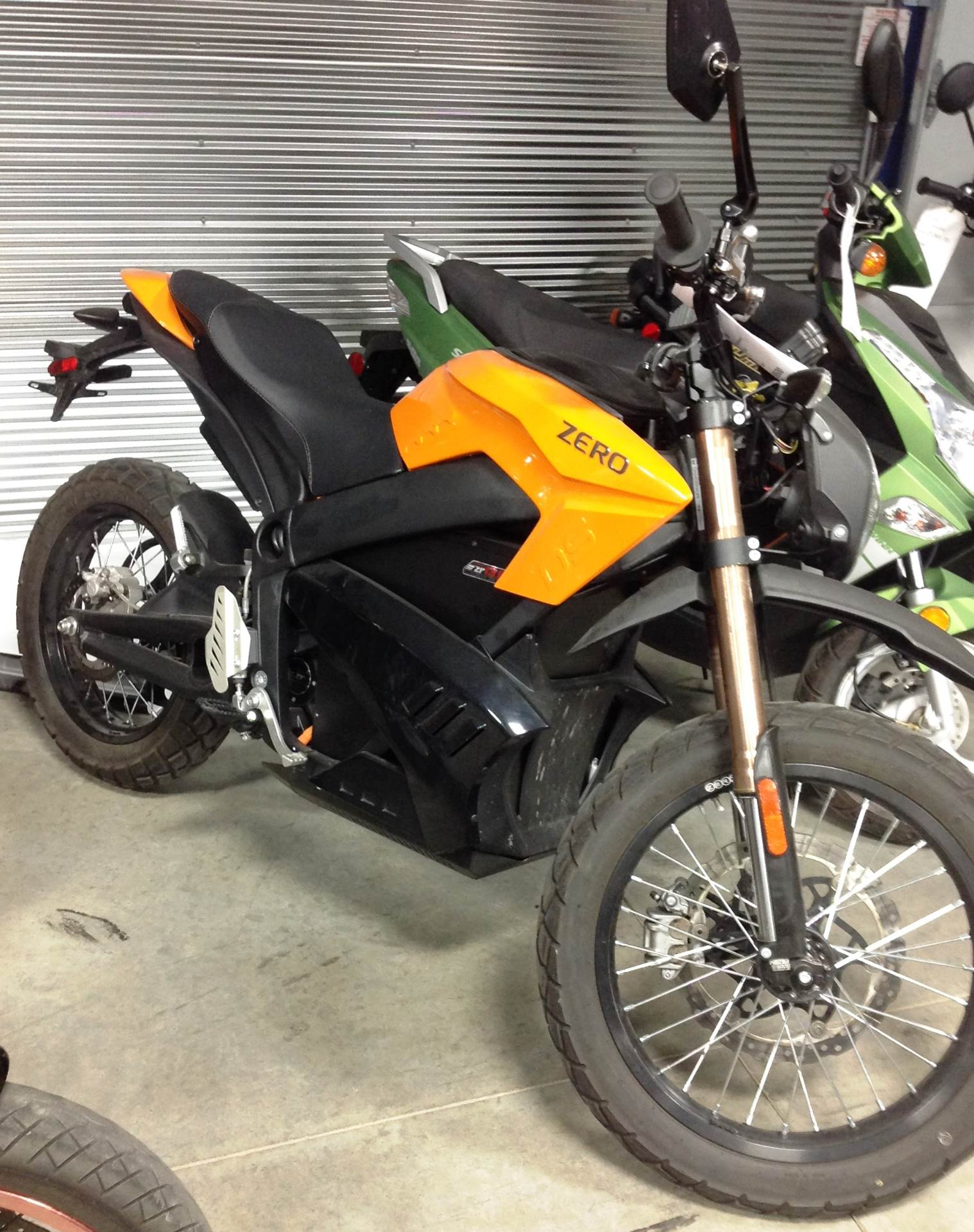 2013 Zero Motorcycles Zero DS™ Dual Sport in Ottumwa, Iowa