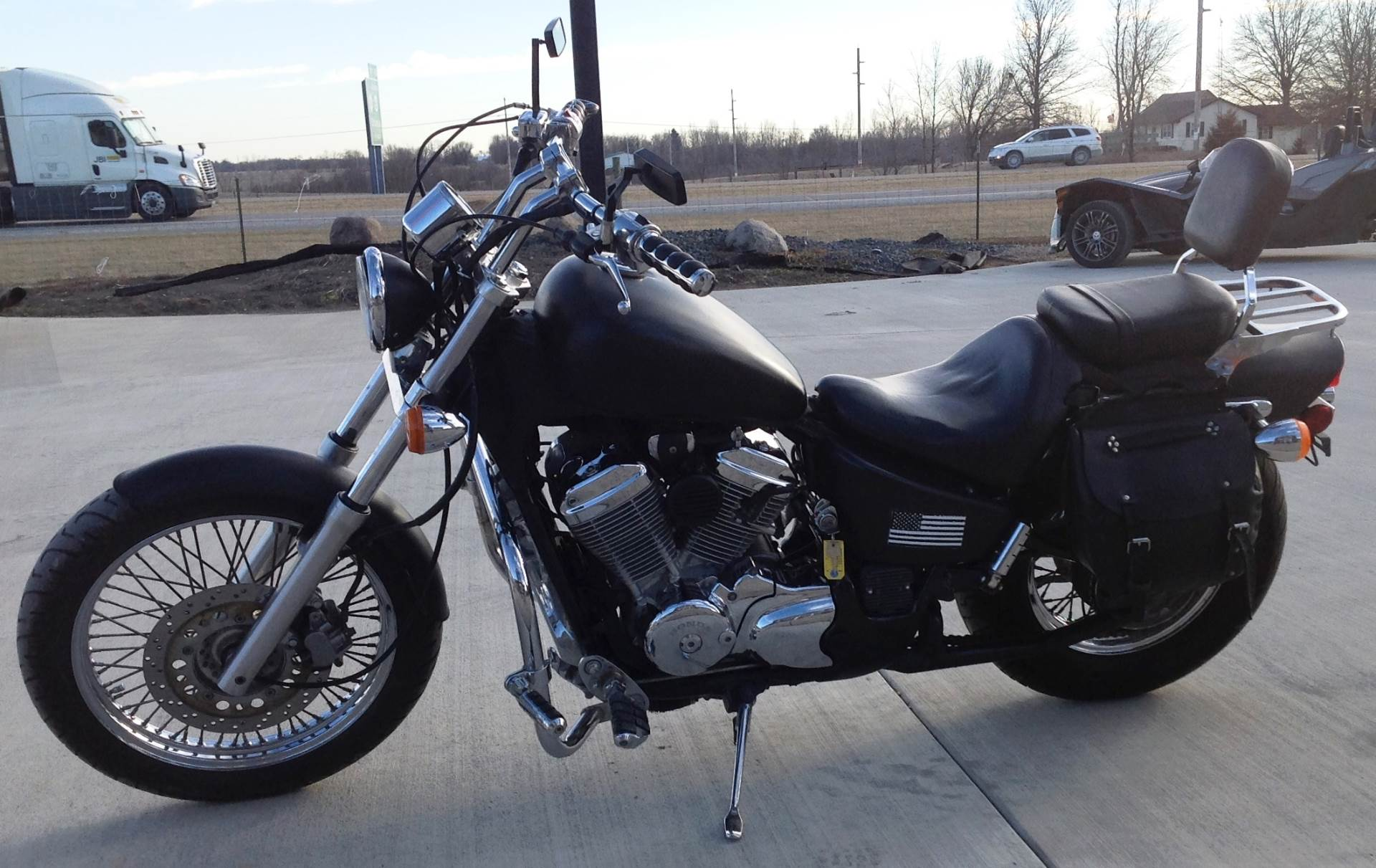 2001 Honda SHADOW 600 VLK in Ottumwa, Iowa