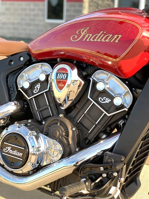 2020 Indian Scout® 100th Anniversary in Ottumwa, Iowa - Photo 2