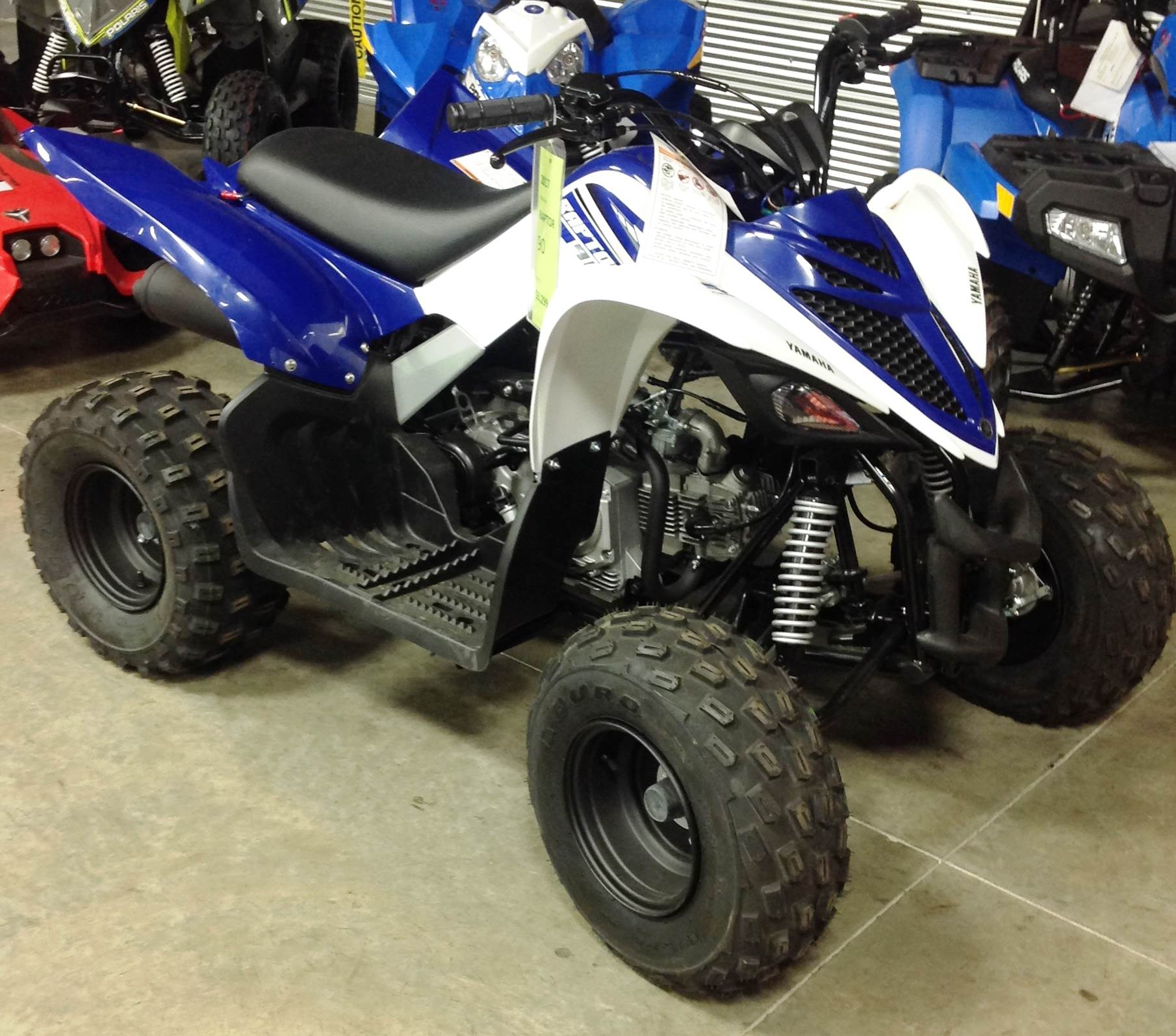 2017 Yamaha Raptor 90 in Ottumwa, Iowa - Photo 3