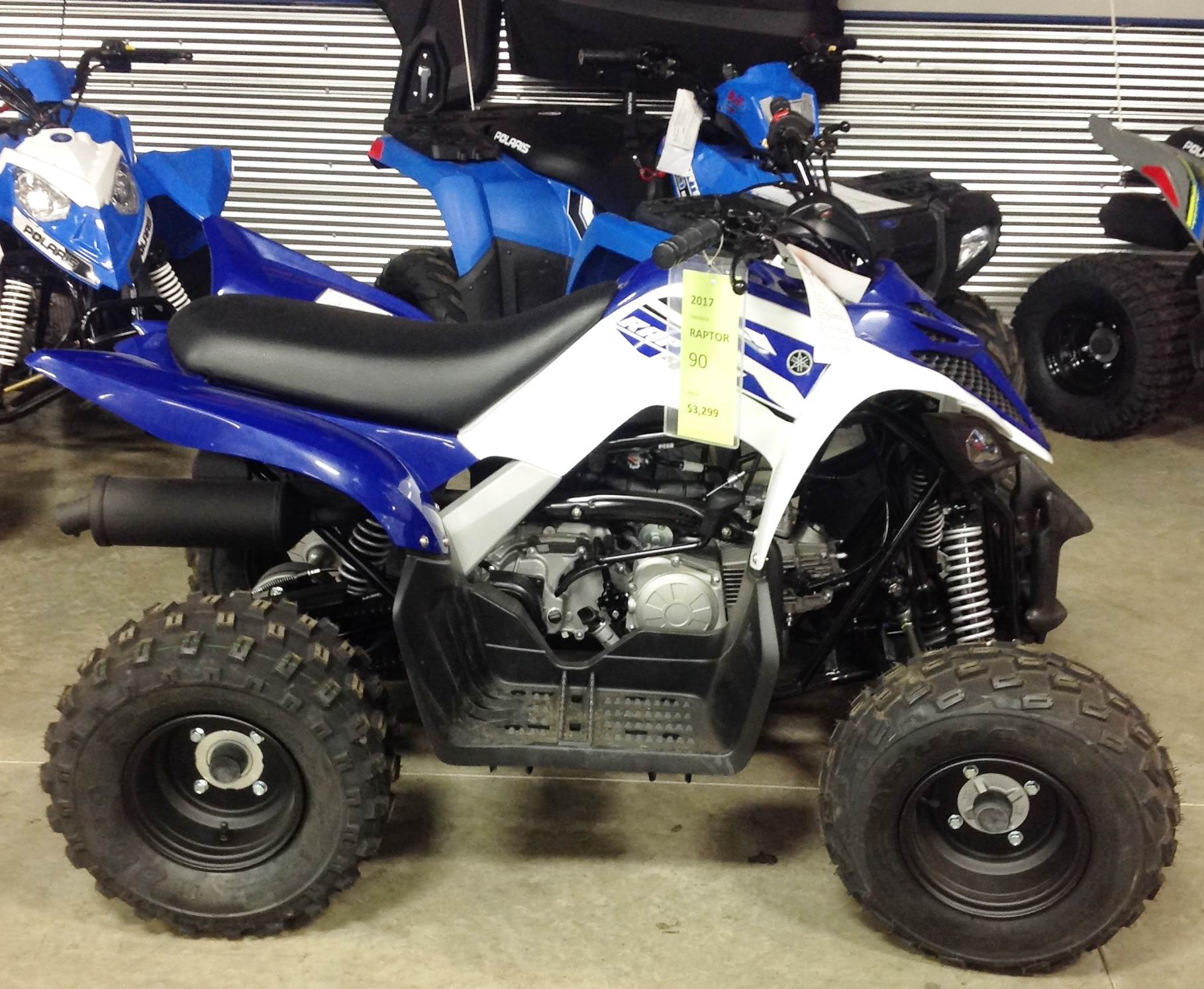 2017 Yamaha Raptor 90 in Ottumwa, Iowa - Photo 1