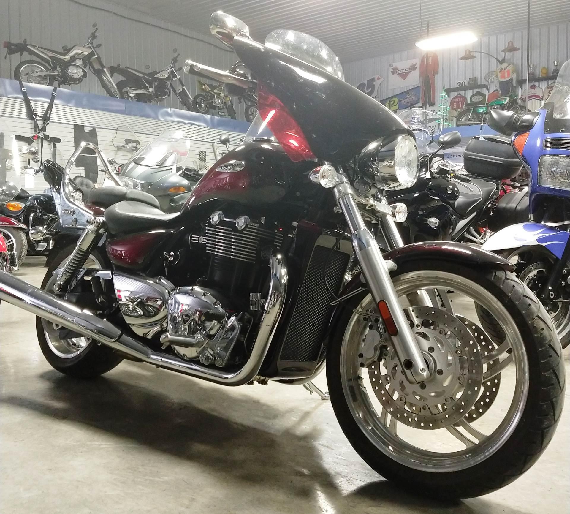 Used 2010 Triumph Thunderbird 1700 Motorcycles In Ottumwa Ia