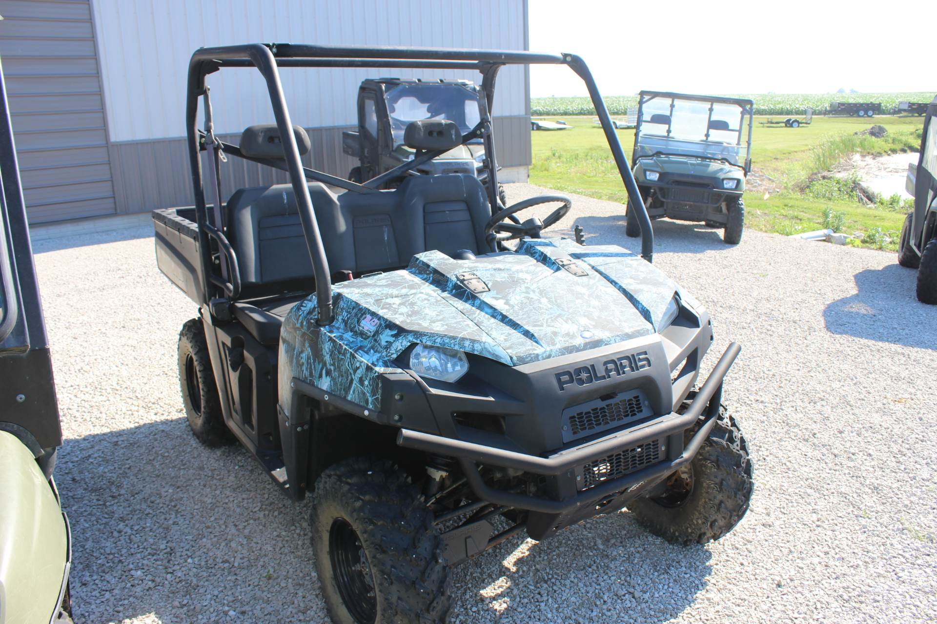 2010 Polaris Ranger 800 EFI XP® Browning® Edition LE in Ottumwa, Iowa
