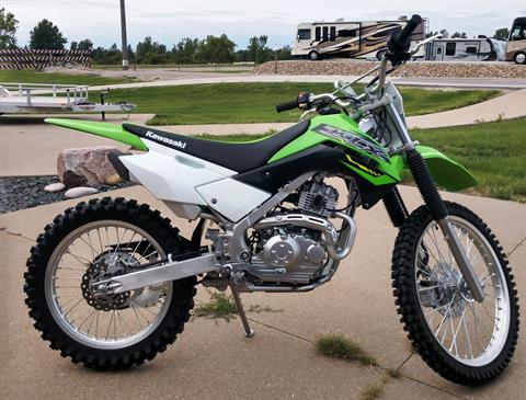 2019 Kawasaki KLX®140G in Ottumwa, Iowa