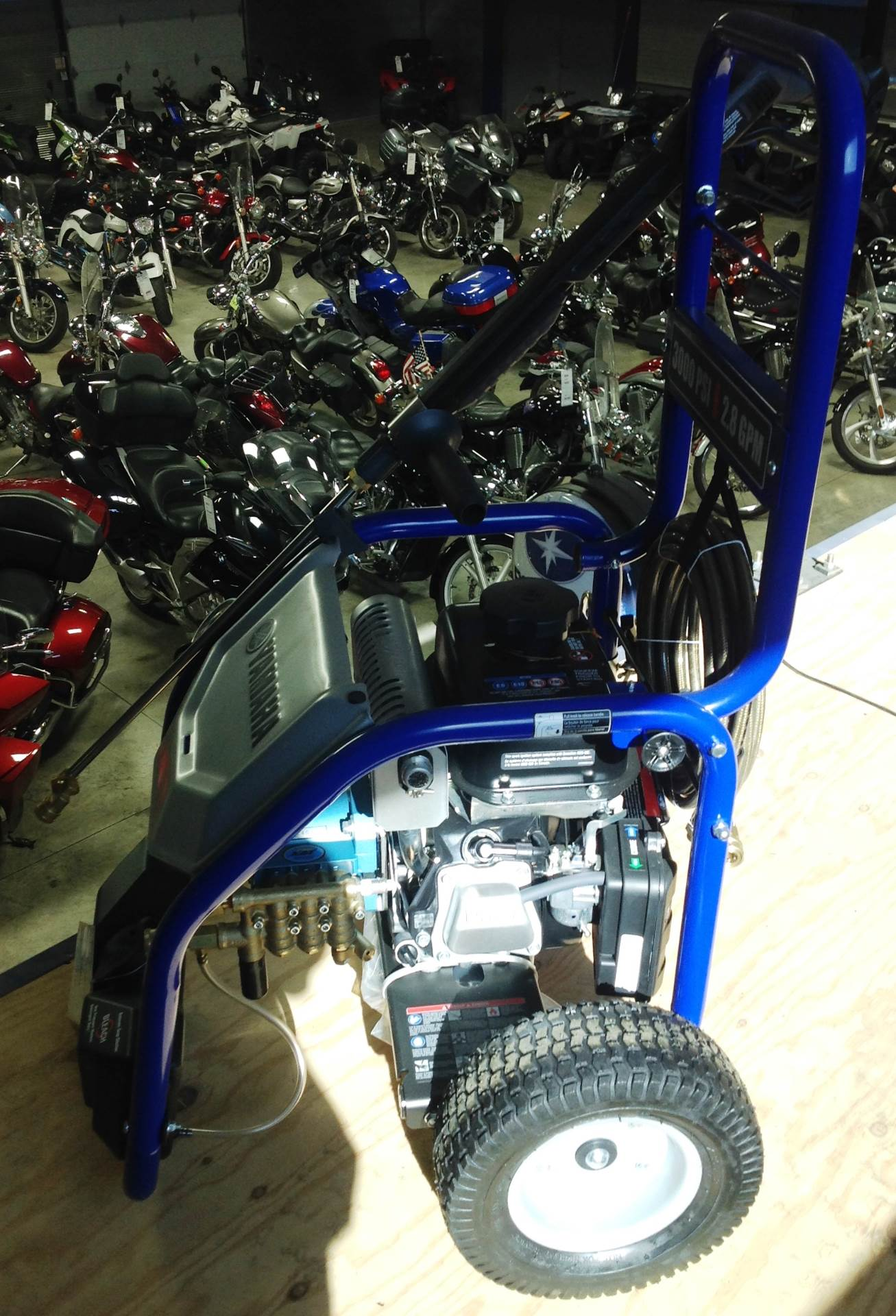 2017 Yamaha PW 3028B in Ottumwa, Iowa