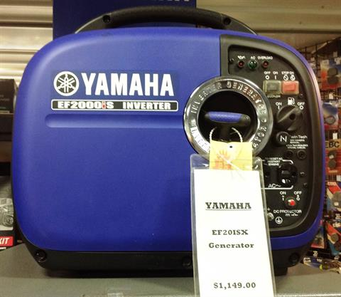 2015 Yamaha EF2000ISV2 in Ottumwa, Iowa