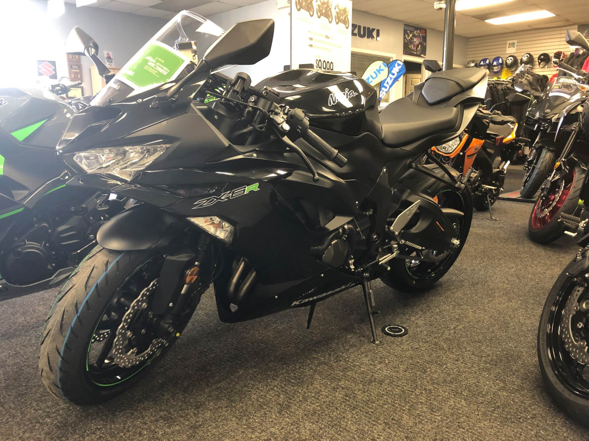2019 Kawasaki NINJA ZX-6R in Highland Springs, Virginia - Photo 1