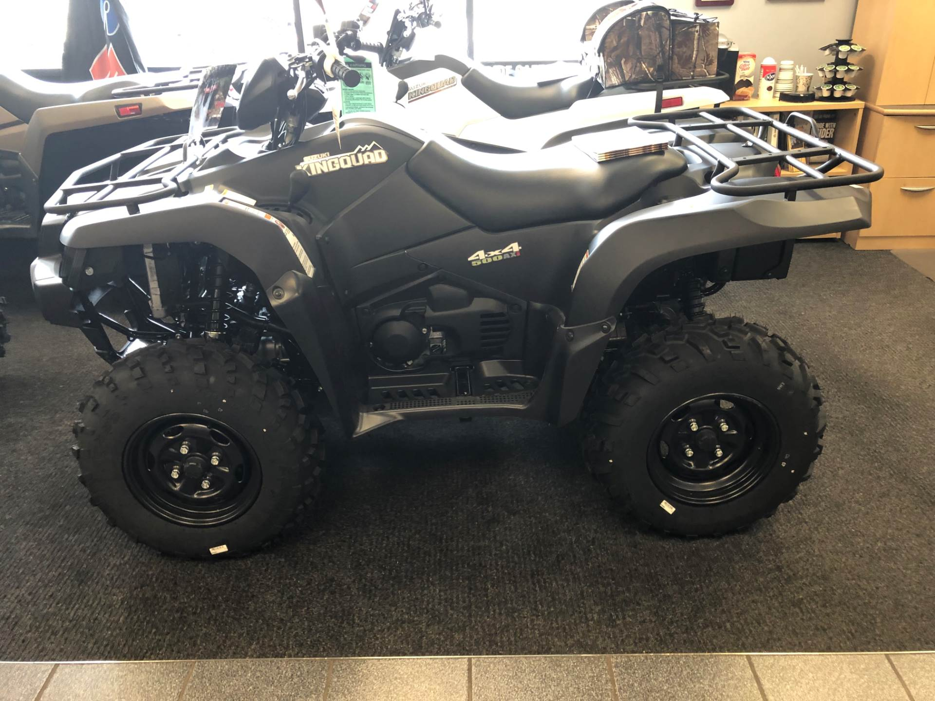 2018 Suzuki KingQuad 500AXi Power Steering Special Edition in Highland Springs, Virginia