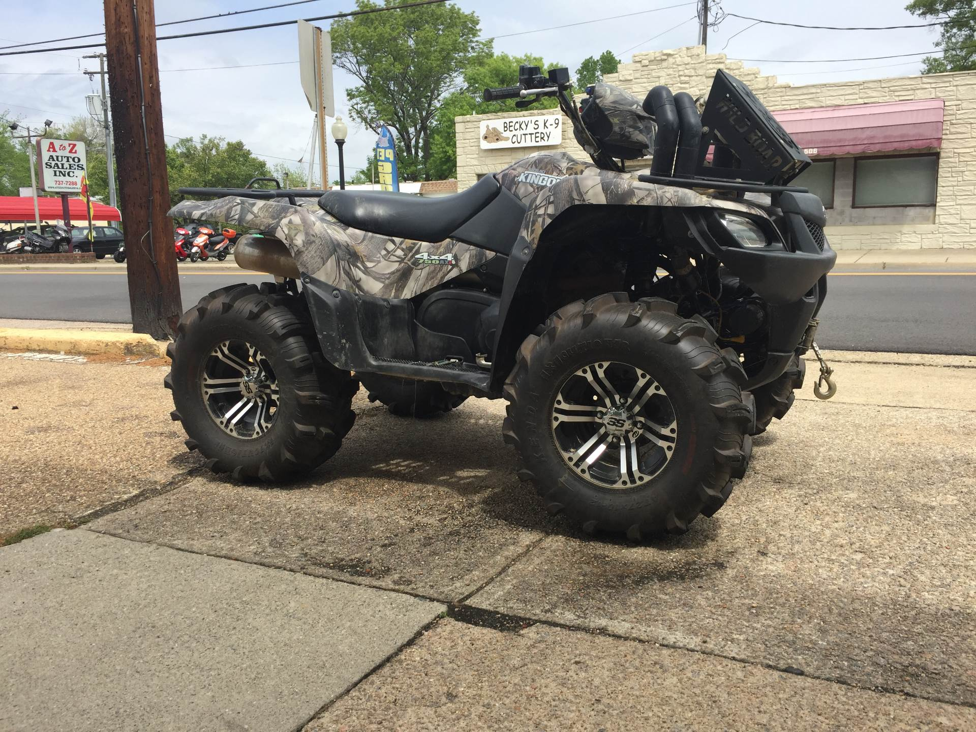 2014 Suzuki KingQuad® 750AXi Camo Power Steering in Highland Springs, Virginia