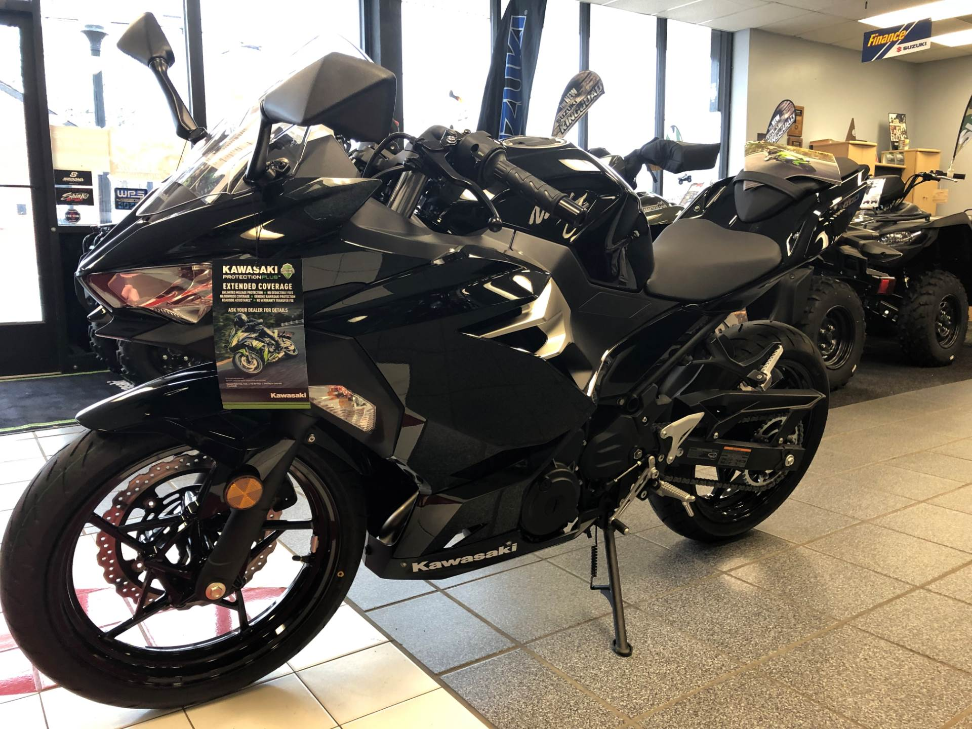 New 2018 Kawasaki Ninja 400 Motorcycles In Highland Springs Va