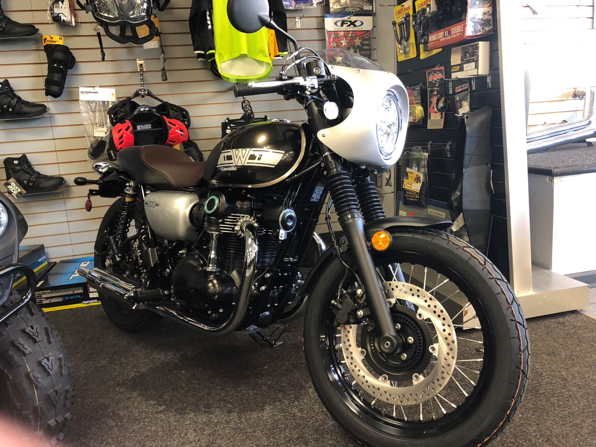 New 2019 Kawasaki W800 Cafe Motorcycles In Highland Springs Va