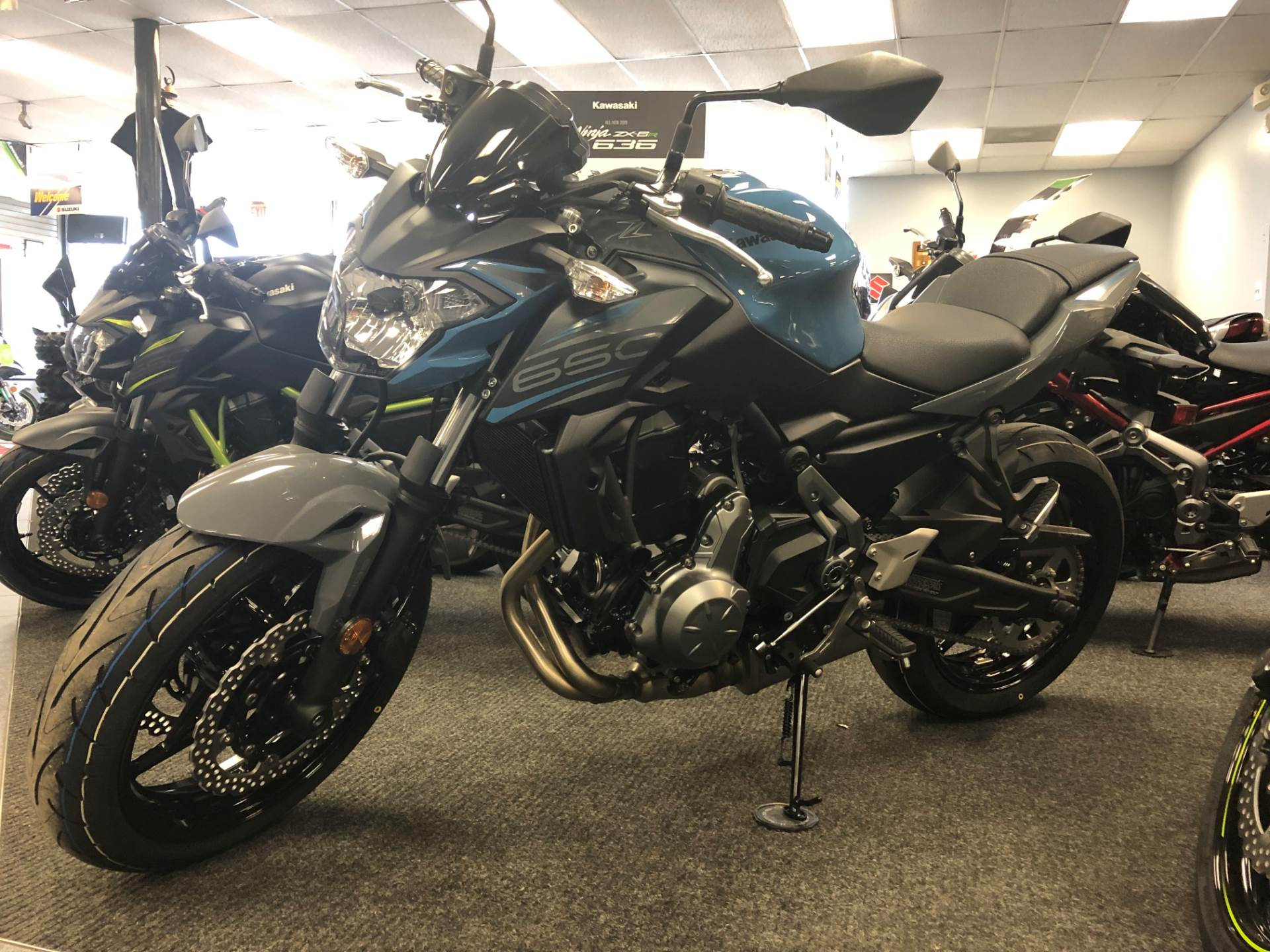 2019 Kawasaki Z650 ABS in Highland Springs, Virginia