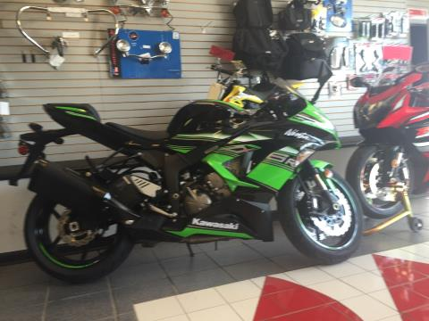 2016 Kawasaki Ninja ZX-6R KRT Edition in Highland Springs, Virginia