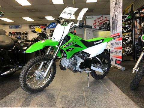 2018 Kawasaki KLX 110 in Highland Springs, Virginia