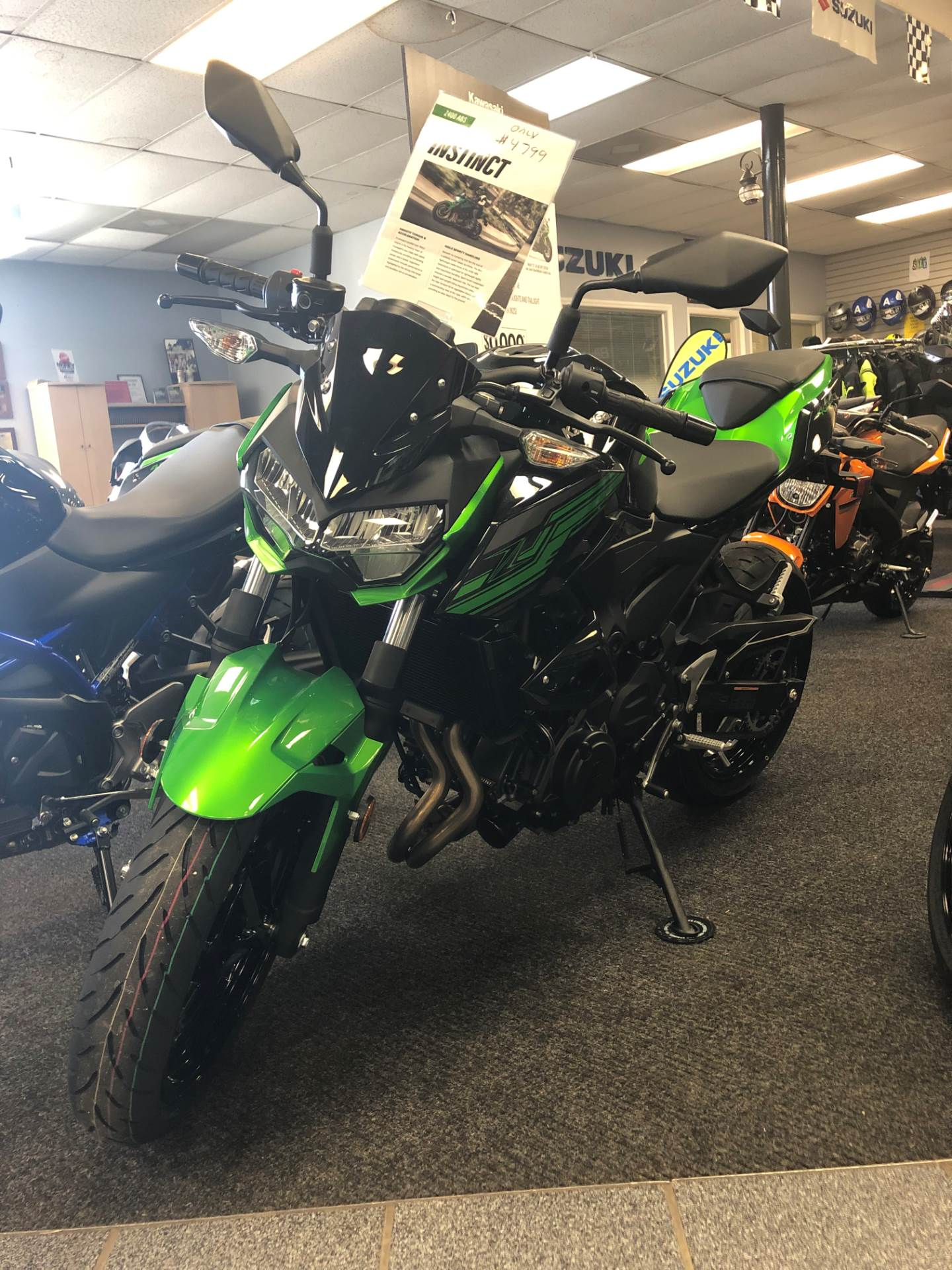 2019 Kawasaki Z400 ABS in Highland Springs, Virginia - Photo 1
