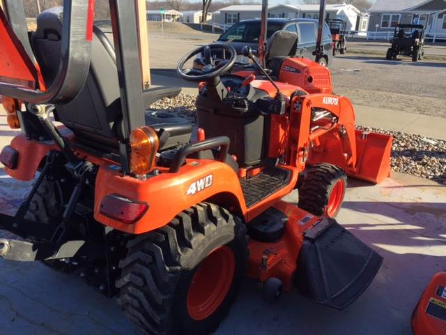 2016 Kubota BX2370RV60 in Fairfield, Illinois