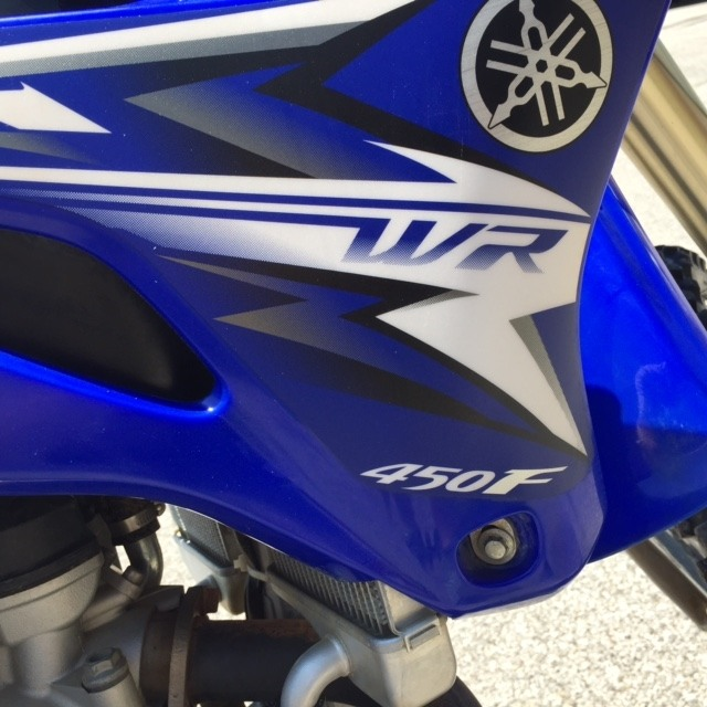2009 Yamaha WR450F in Fairfield, Illinois
