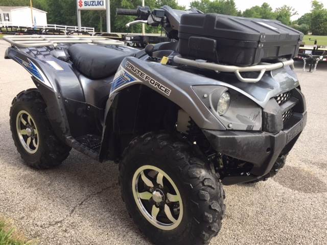2012 Kawasaki Brute Force® 750 4x4i EPS in Fairfield, Illinois