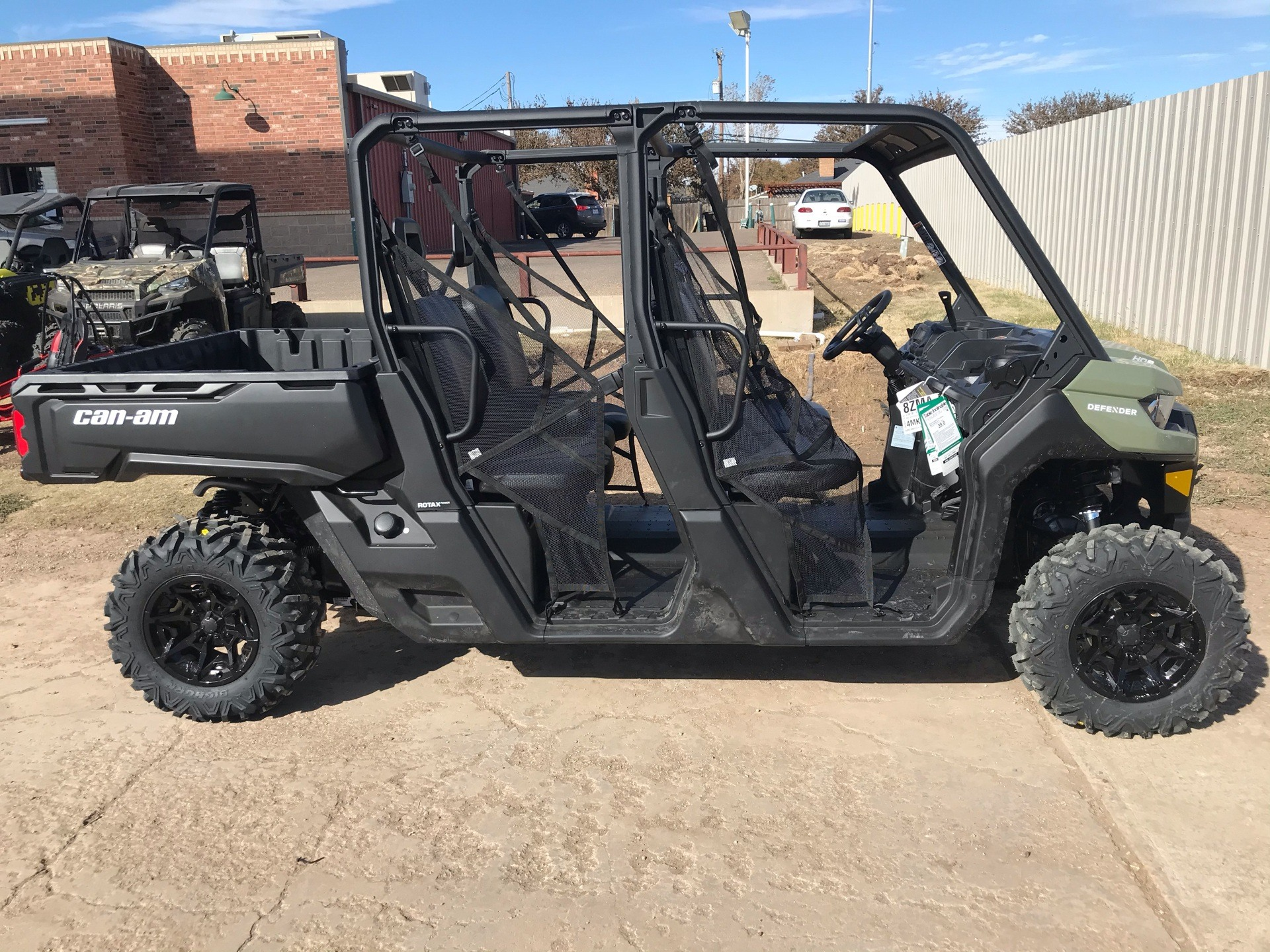 2021 Can-Am Defender MAX HD8 in Amarillo, Texas - Photo 1
