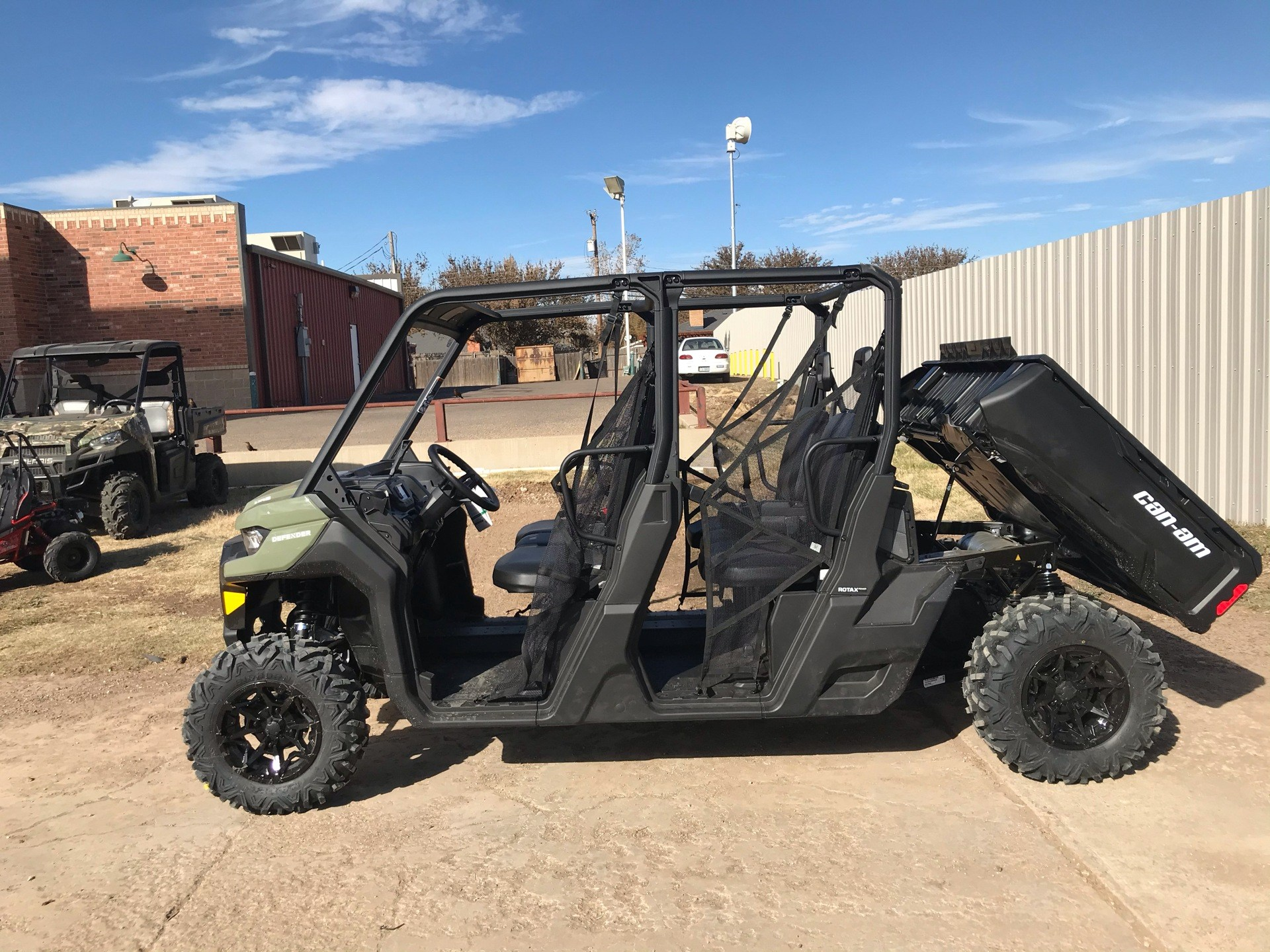 2021 Can-Am Defender MAX HD8 in Amarillo, Texas - Photo 3