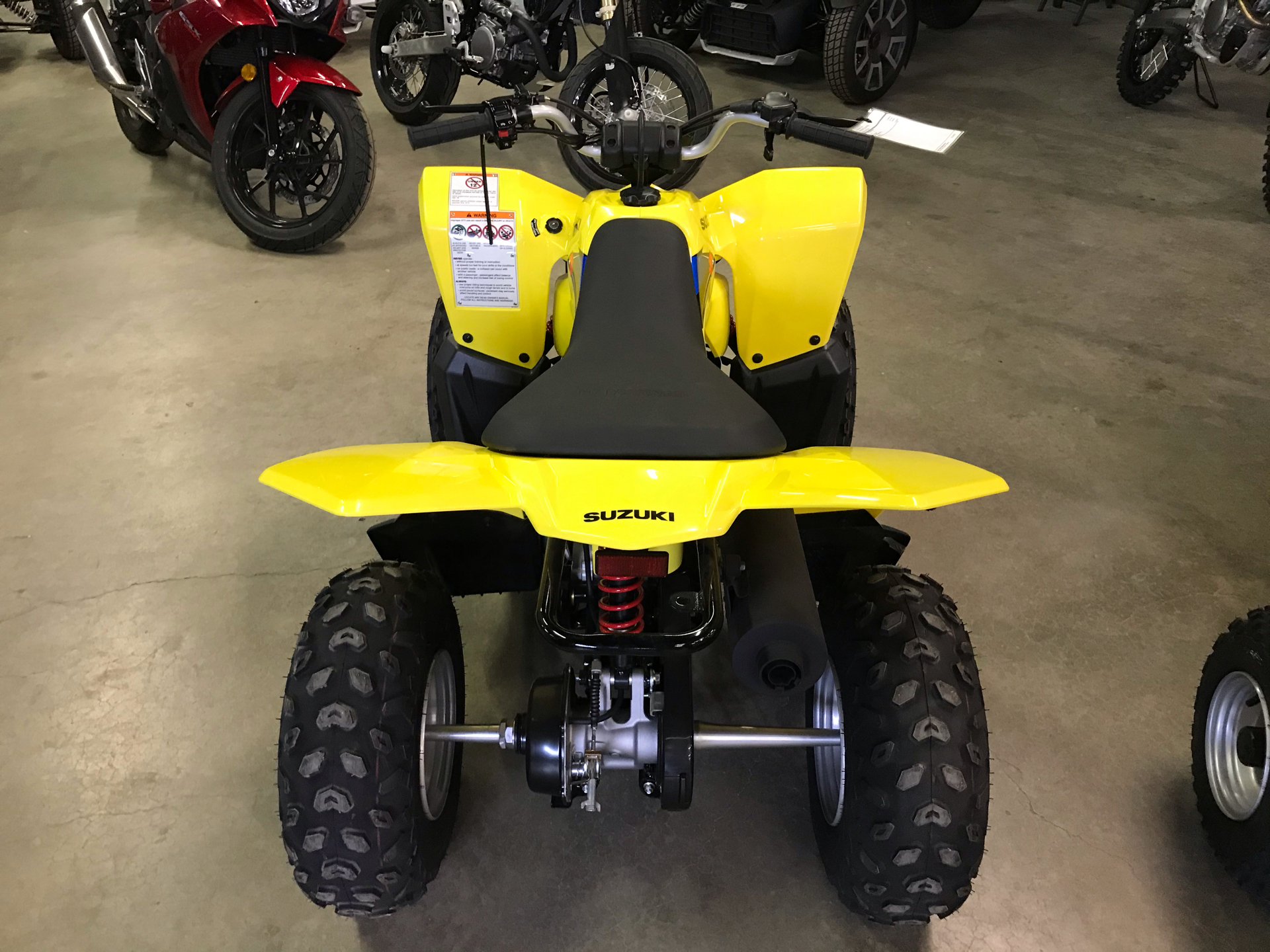 2021 Suzuki QuadSport Z90 in Amarillo, Texas - Photo 4